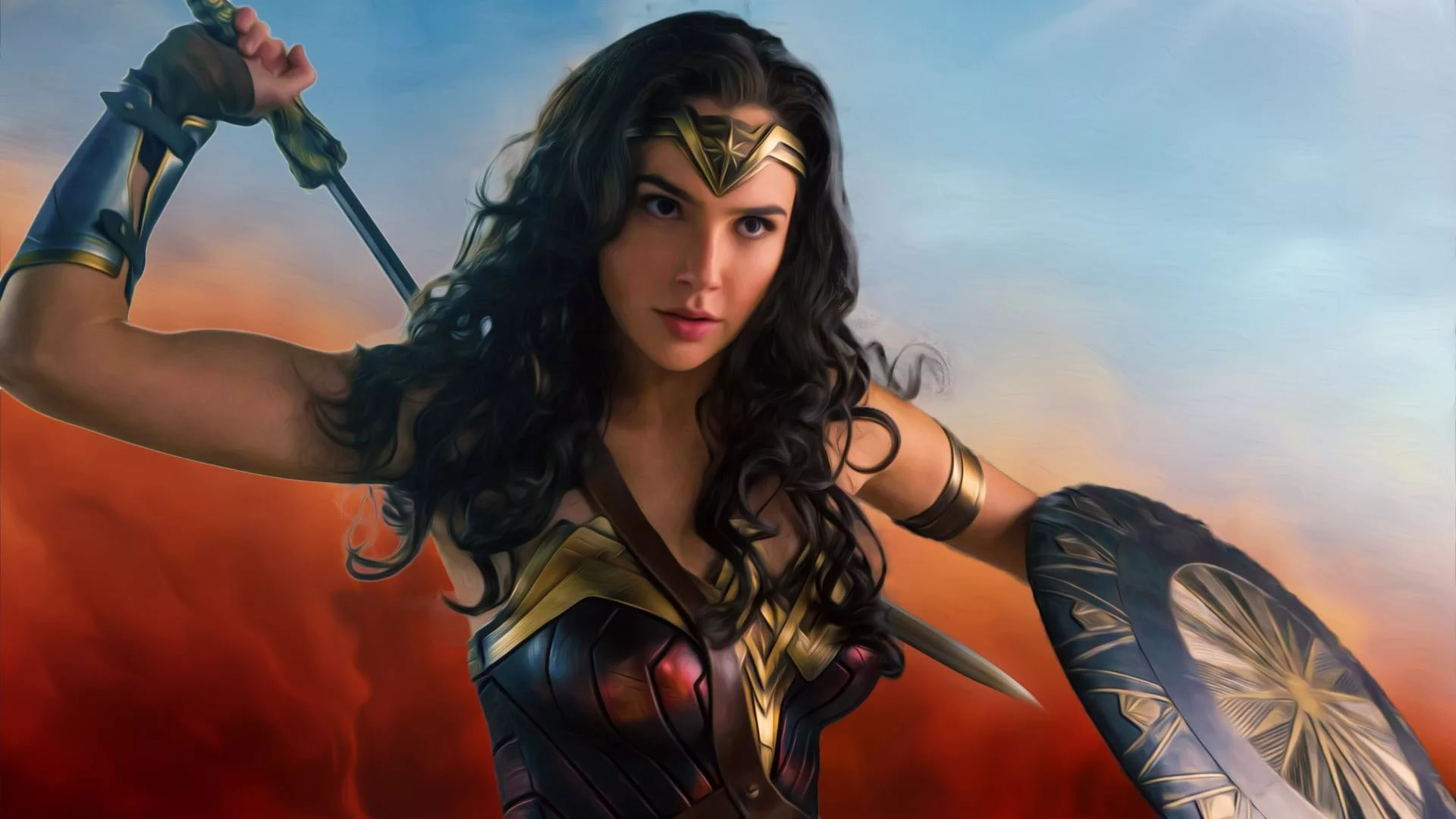 Res: 1920x1080, Wonder Woman Wallpapers 10 - 1920 X 1080