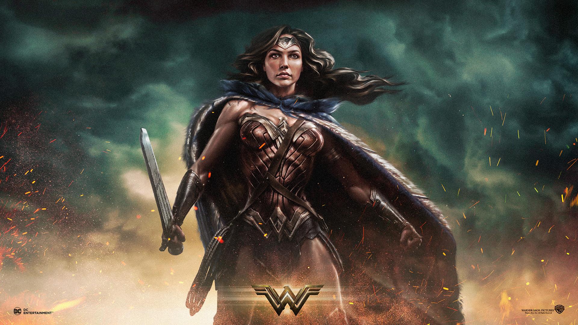Res: 1920x1080, Filme - Wonder Woman Wallpaper