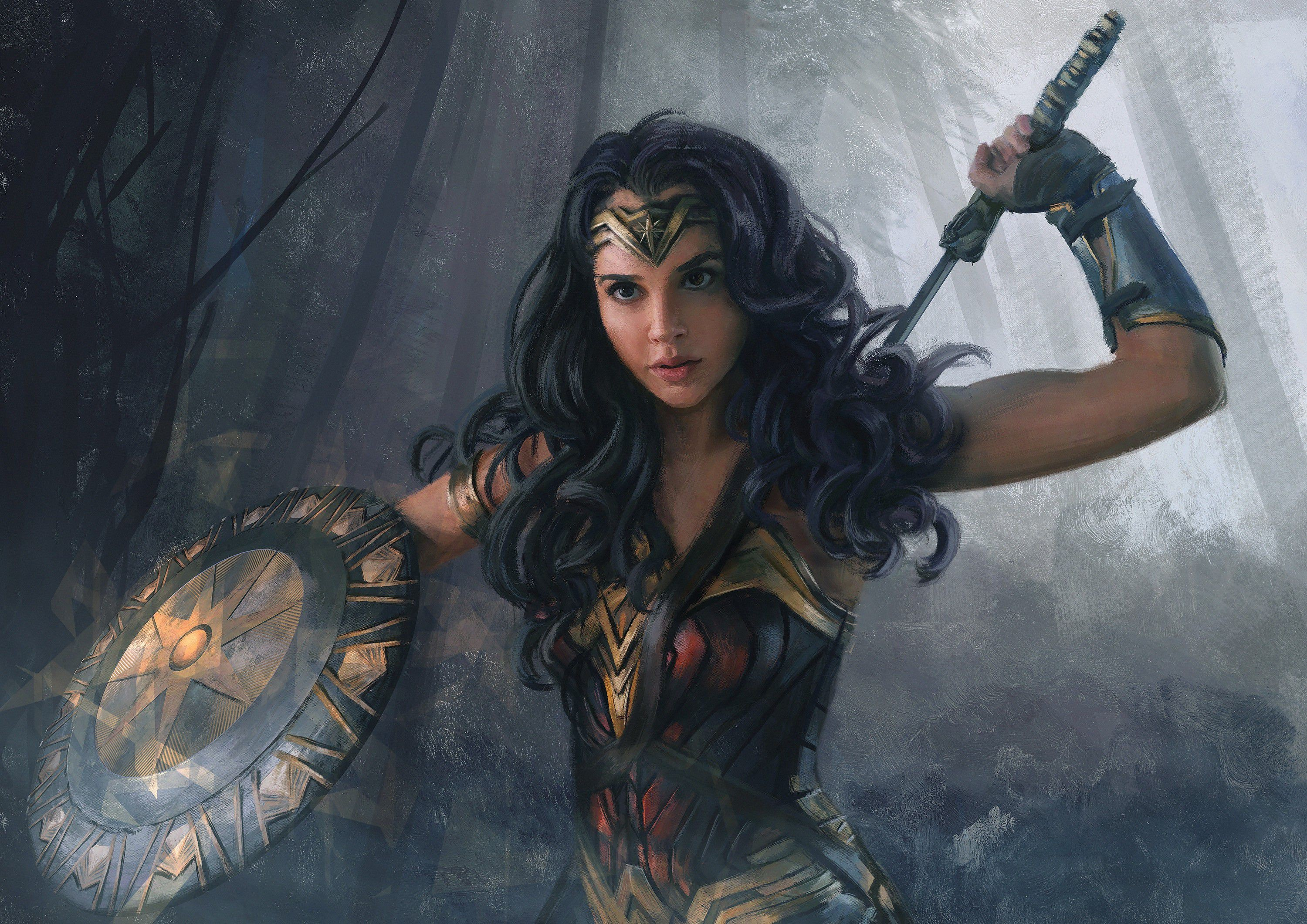 Res: 3000x2121, Wonder Woman Wallpapers 19 - 3000 X 2121