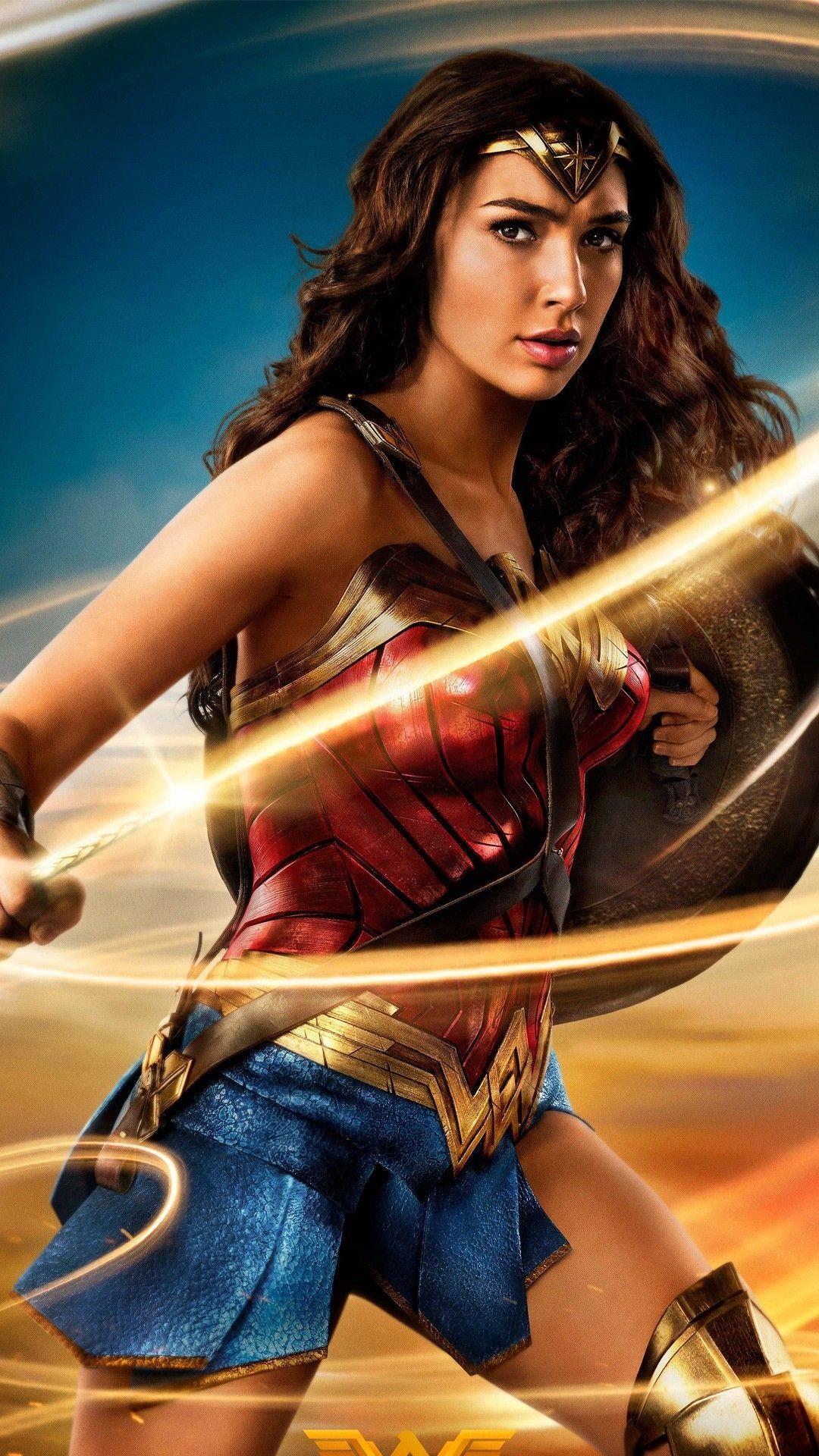 Res: 1080x1920, Gal Gadot Wonder Woman Wallpaper For Mobile - Best iPhone Wallpaper