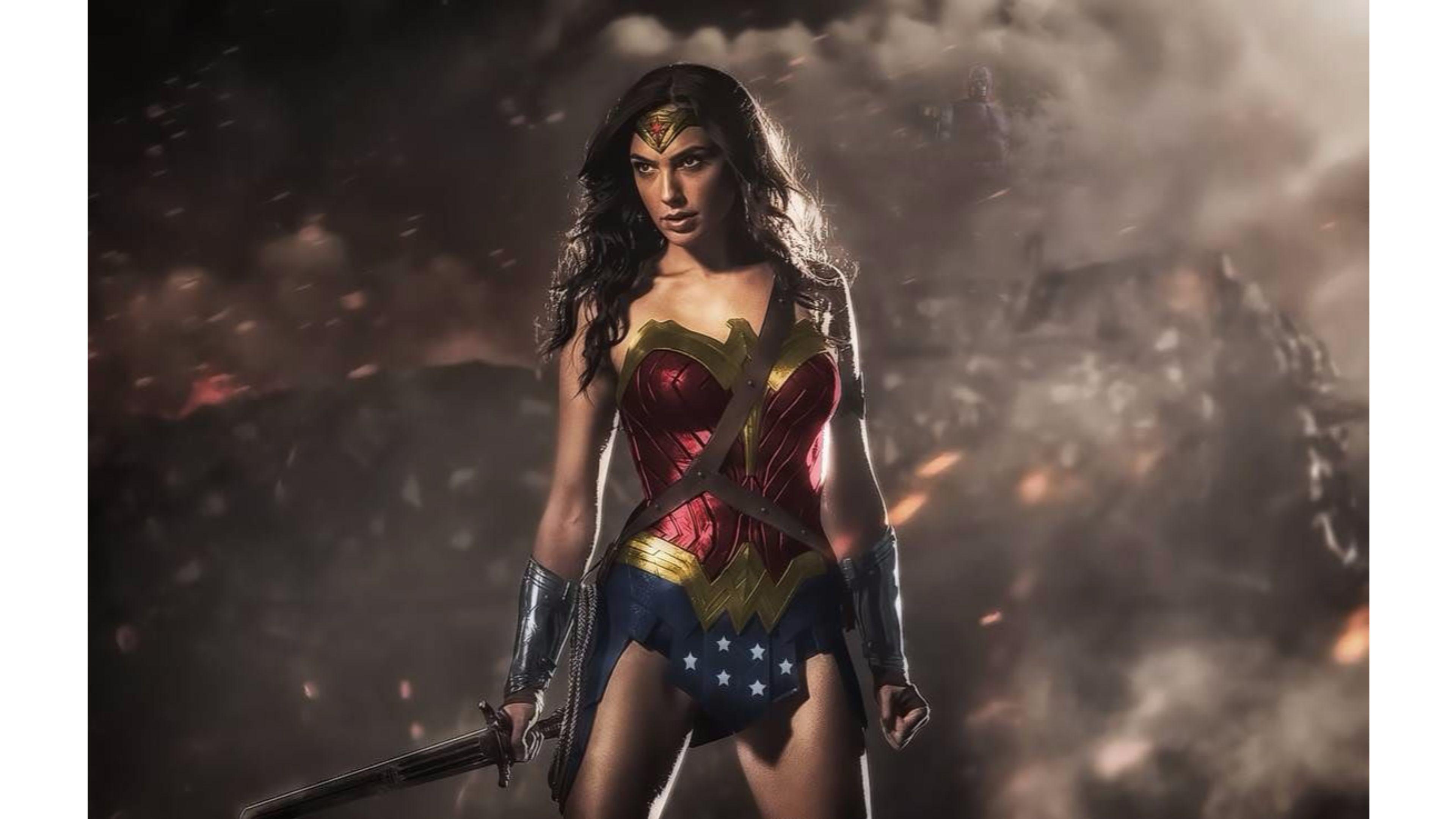 Res: 3840x2160, Wonder Woman 2016 Gal Gadot 4K Wallpaper