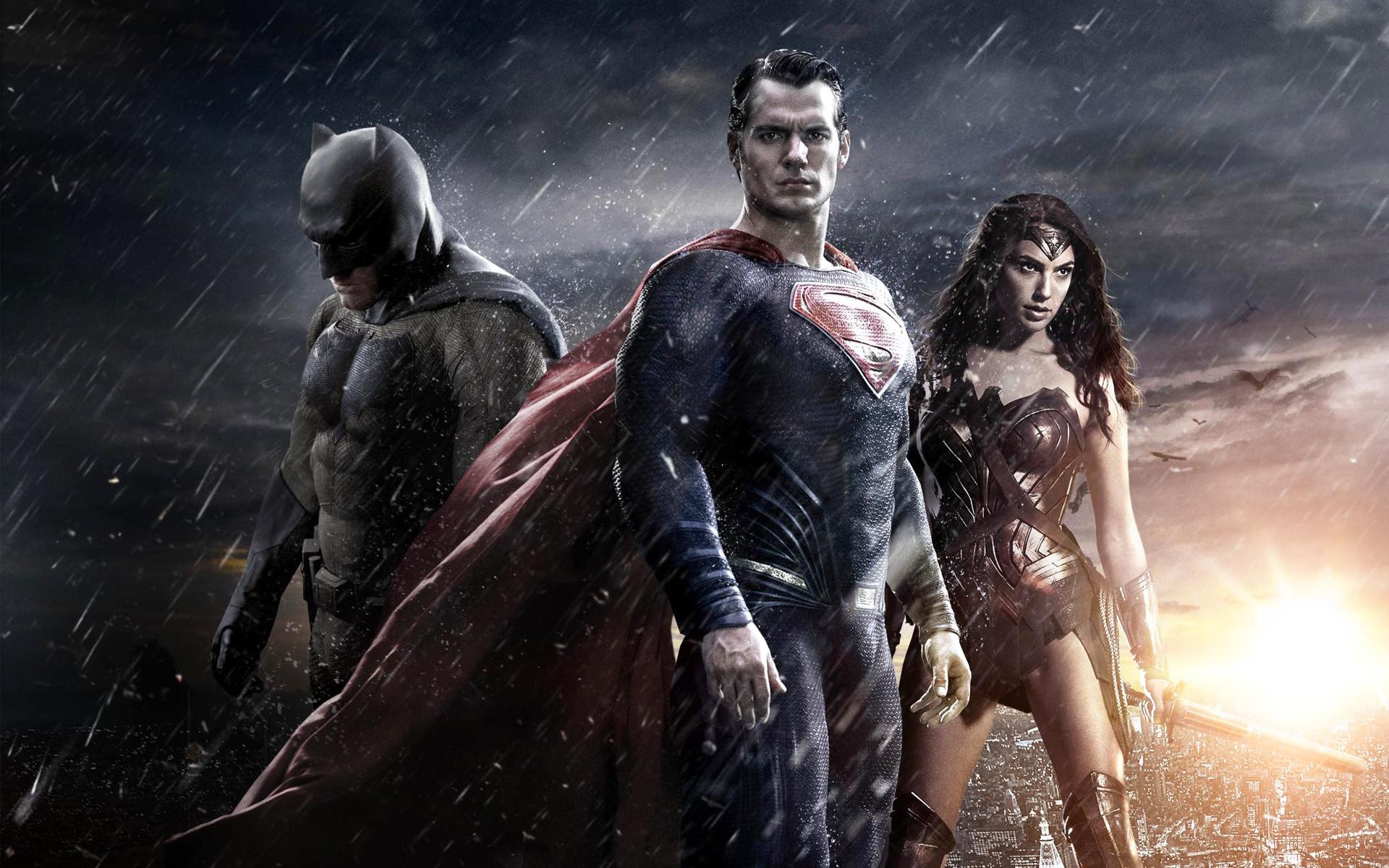 Res: 1920x1200, Batman Superman Wonder Woman wallpaper