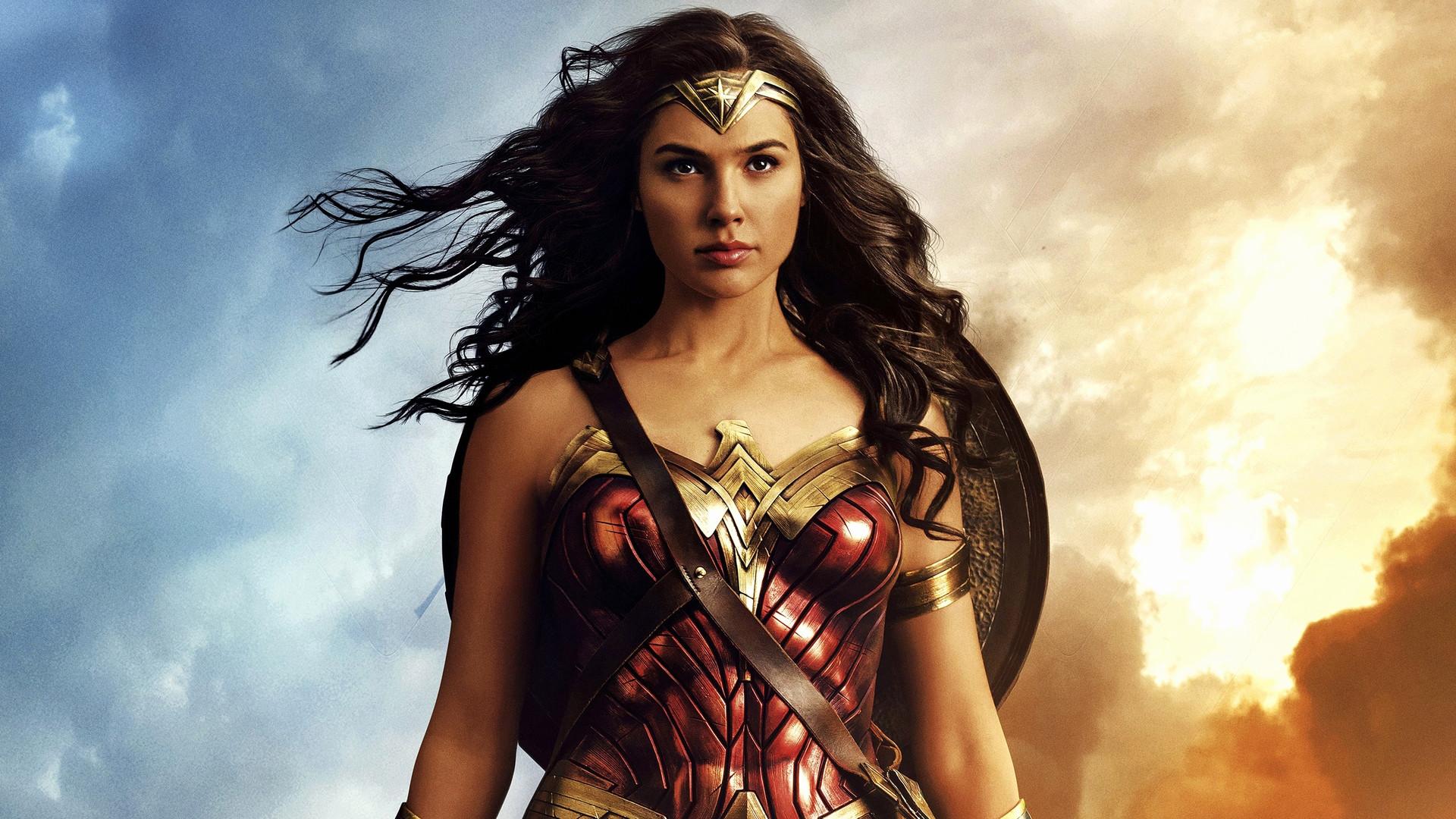 Res: 1920x1080, Wonder Woman Wallpaper Lovely Wonder Woman 2017 Movie Gal Gadot Wallpaper