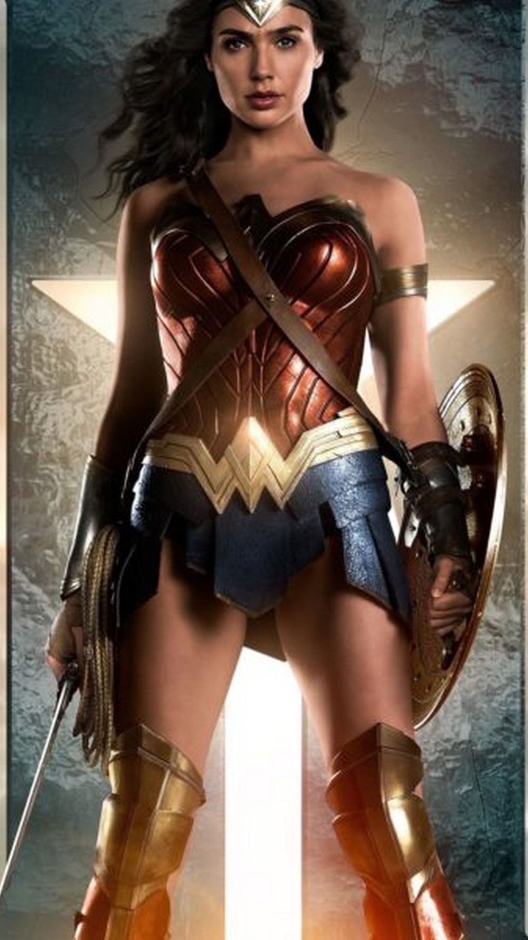 Res: 1080x1920, Wonder Woman Justice Leauge Gal Gadot Wallpaper resolution