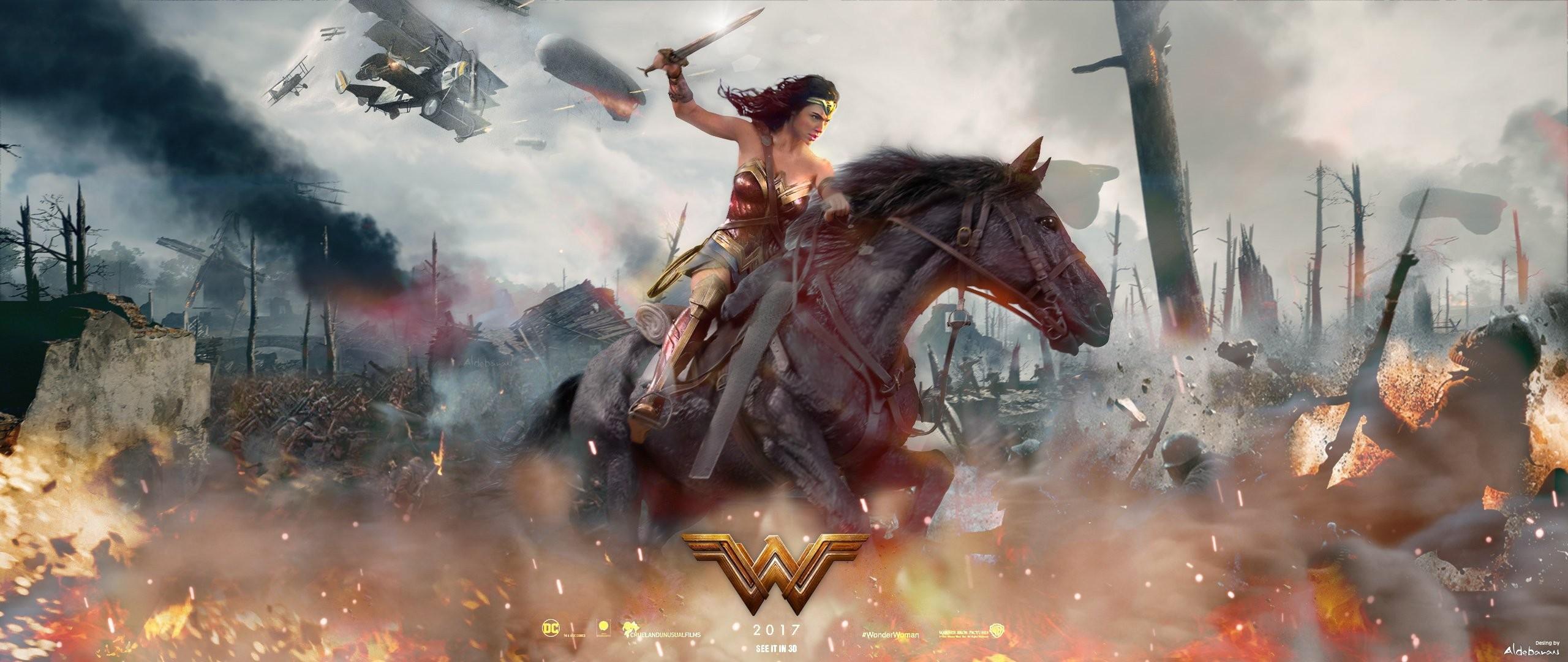 Res: 2560x1080, Gal Gadot Wonder Woman · HD Wallpaper | Background Image ID:817386