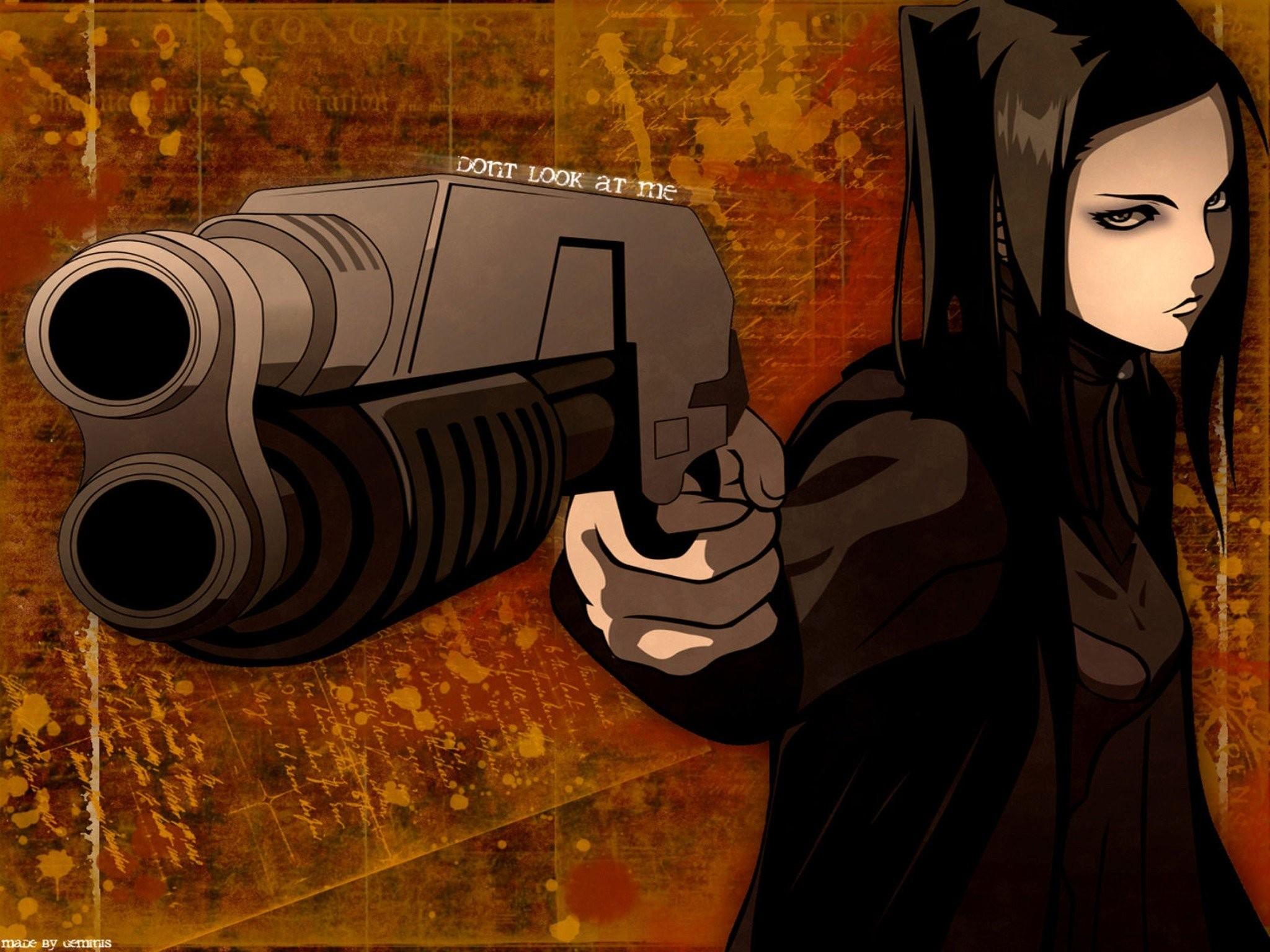 Res: 2048x1536, anime ergo proxy guns artwork