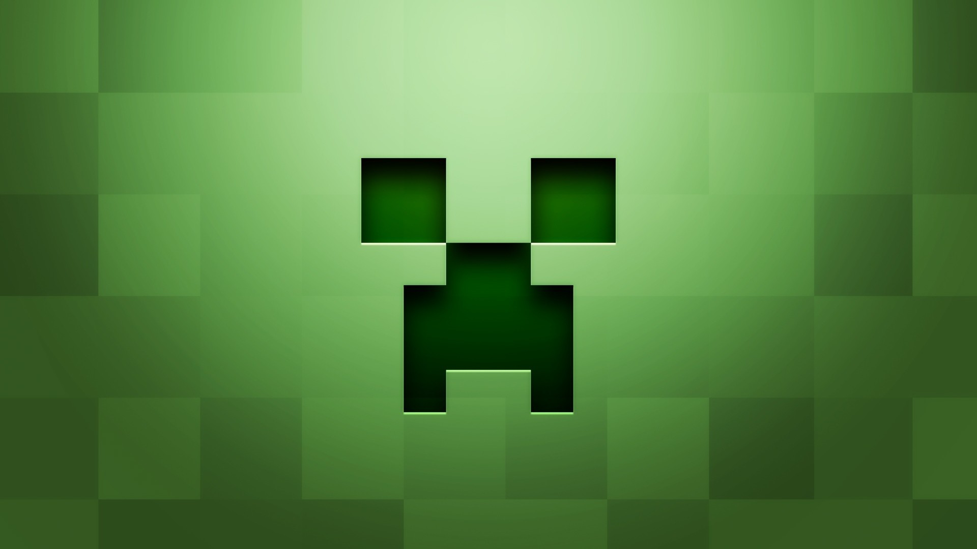 Res: 1920x1080,  Preview wallpaper minecraft, background, graphics, green