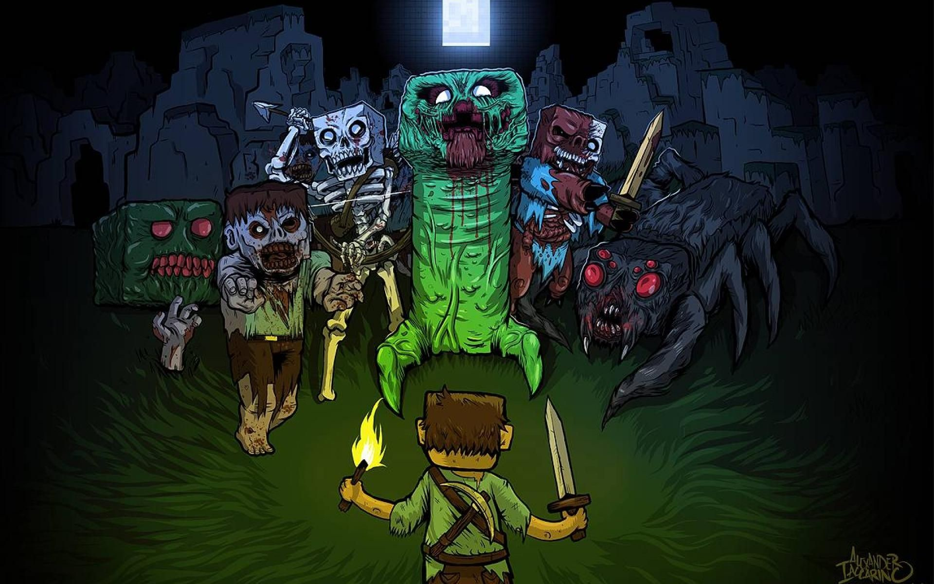 Res: 1920x1200, Cool Minecraft Backgrounds Wallpaper 1920×1200 Minecraft Cool Wallpapers  (28 Wallpapers) | Adorable