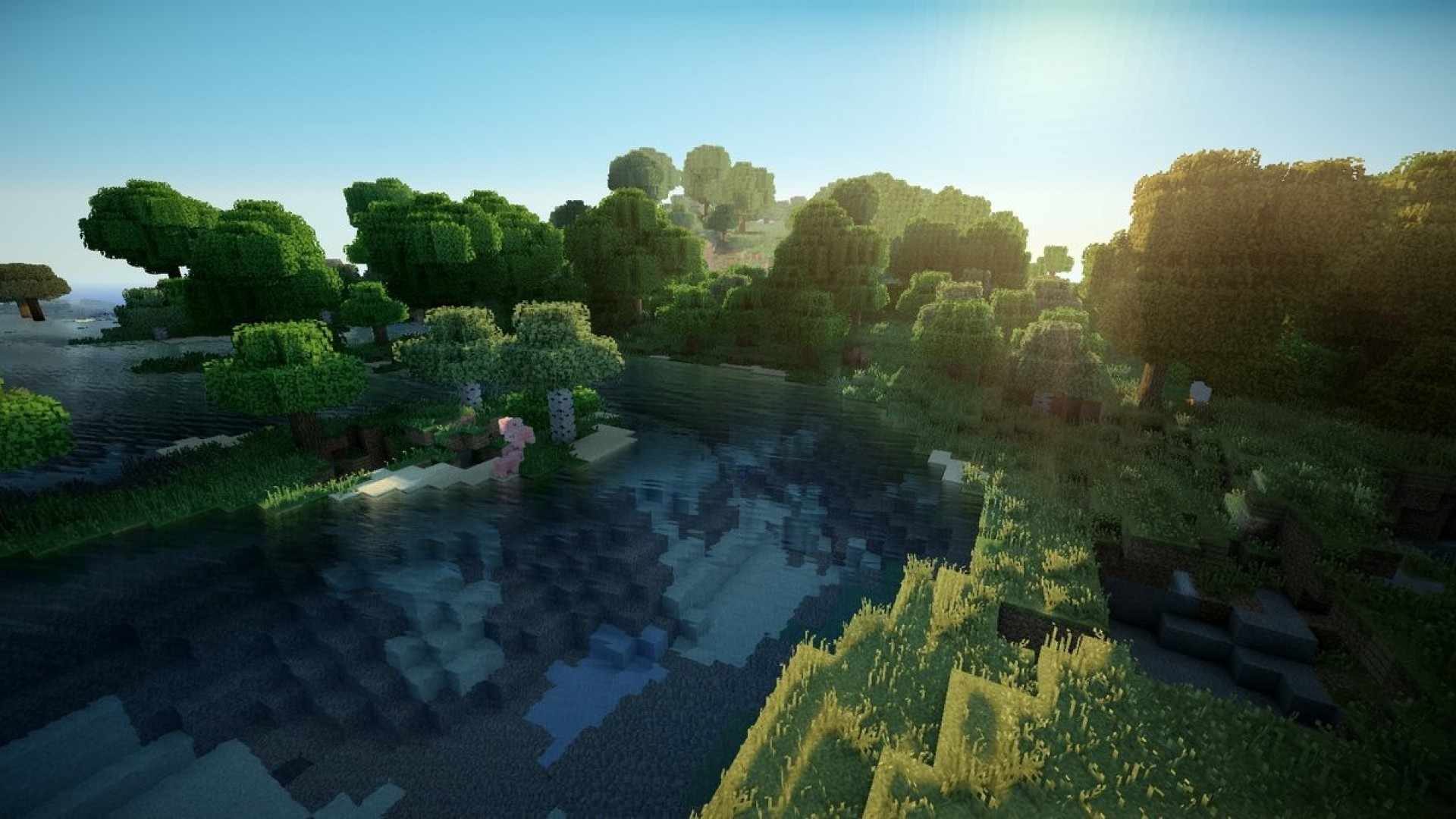 Res: 1920x1080, Free Download Minecraft HD Backgrounds, .JOP93