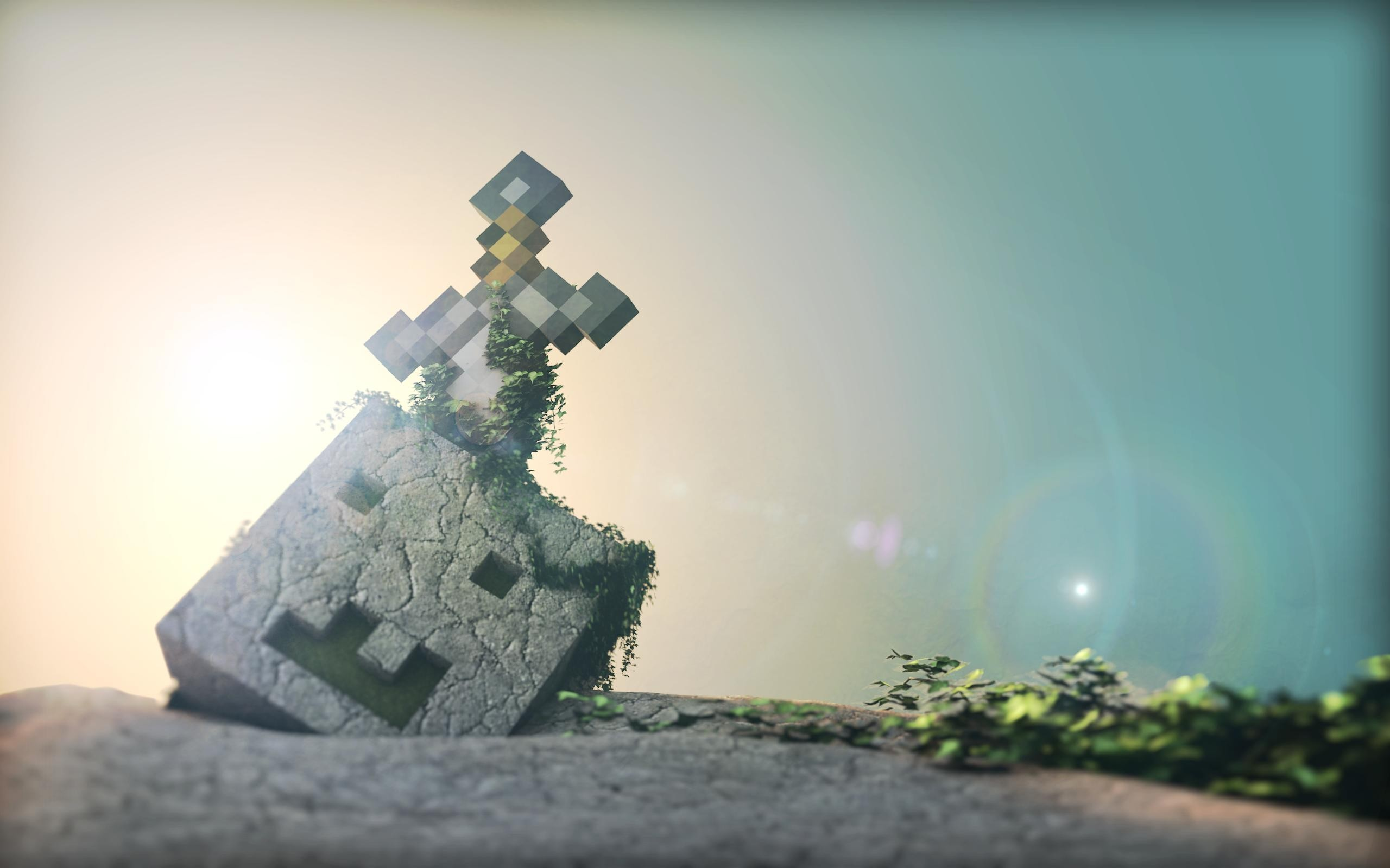 Res: 2560x1600, Minecraft backgrounds wallpaper
