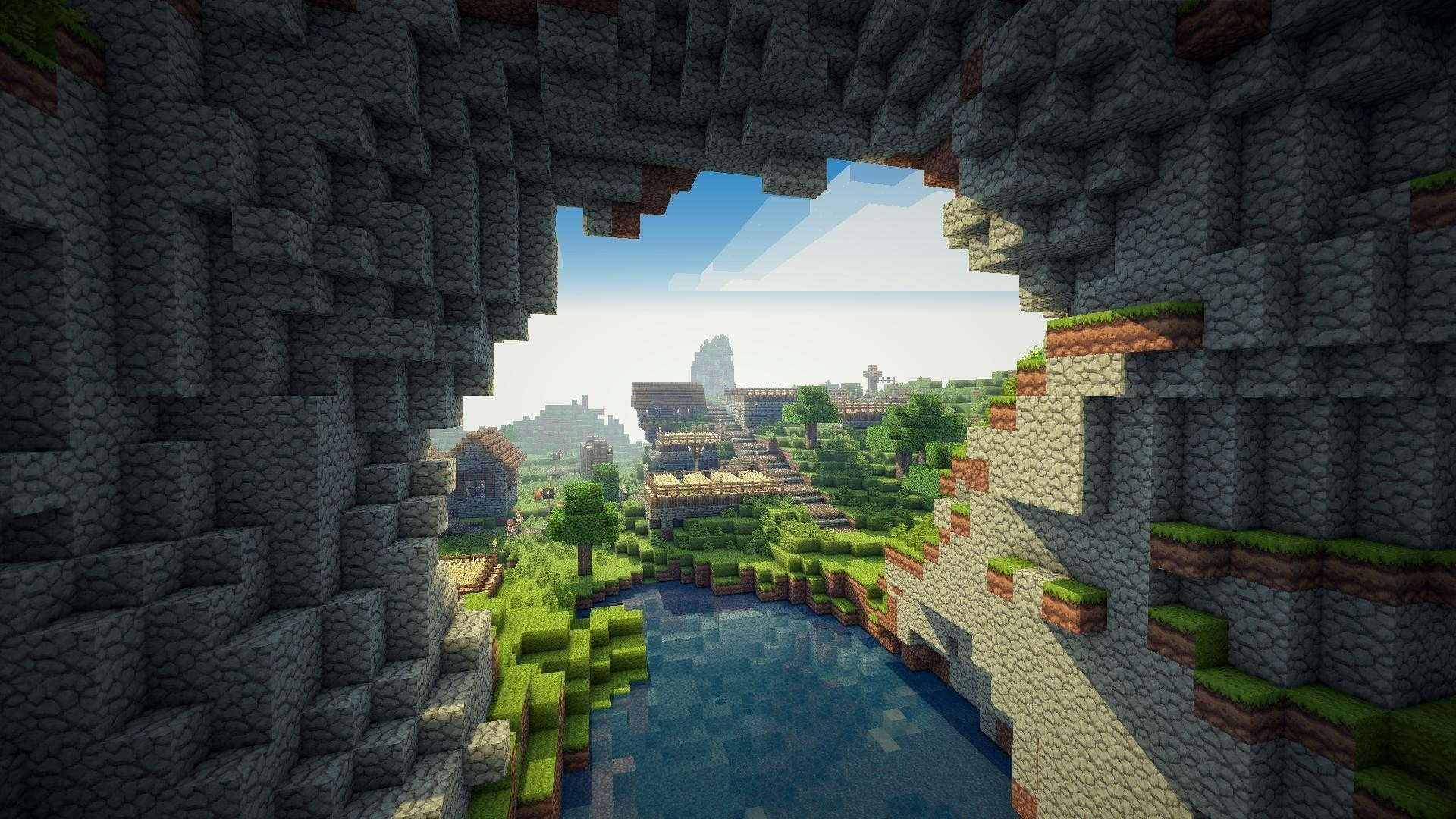 Res: 1920x1080, Title : minecraft backgrounds hd – wallpaper cave. Dimension : 1920 x 1080.  File Type : JPG/JPEG