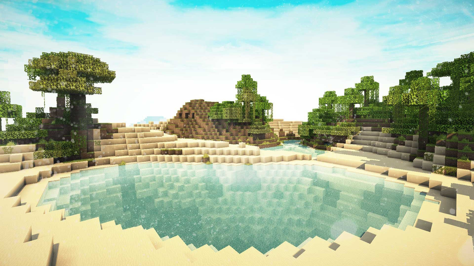 Res: 1920x1080, 385 Minecraft HD Wallpapers | Backgrounds Wallpaper Gallery