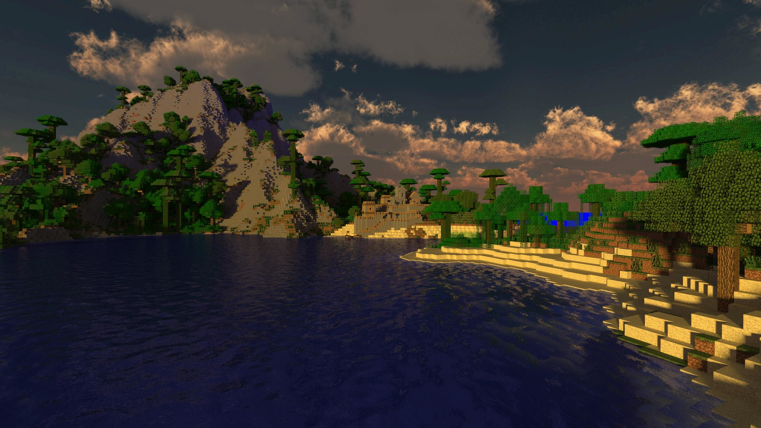 Res: 2560x1440, Minecraft Wallpapers  Group (86+)