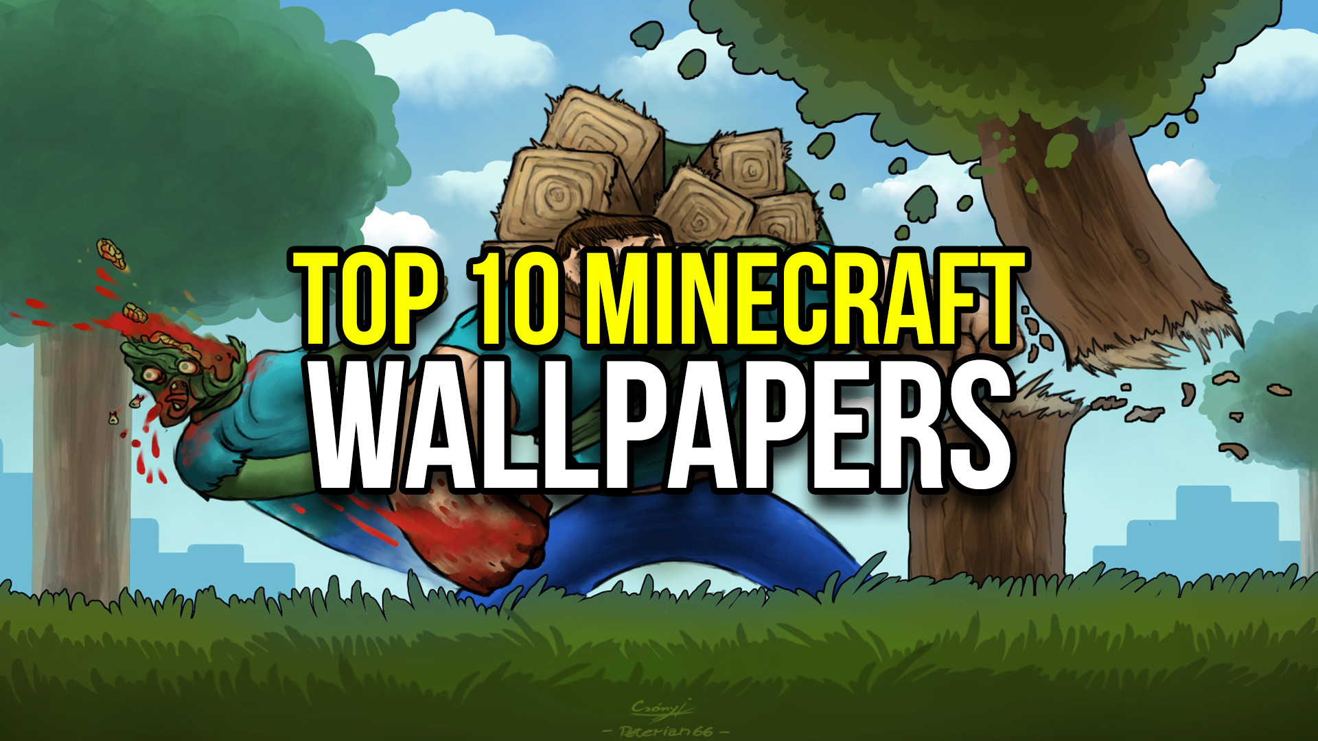 Res: 1920x1080, Top 10 Minecraft Wallpapers #2