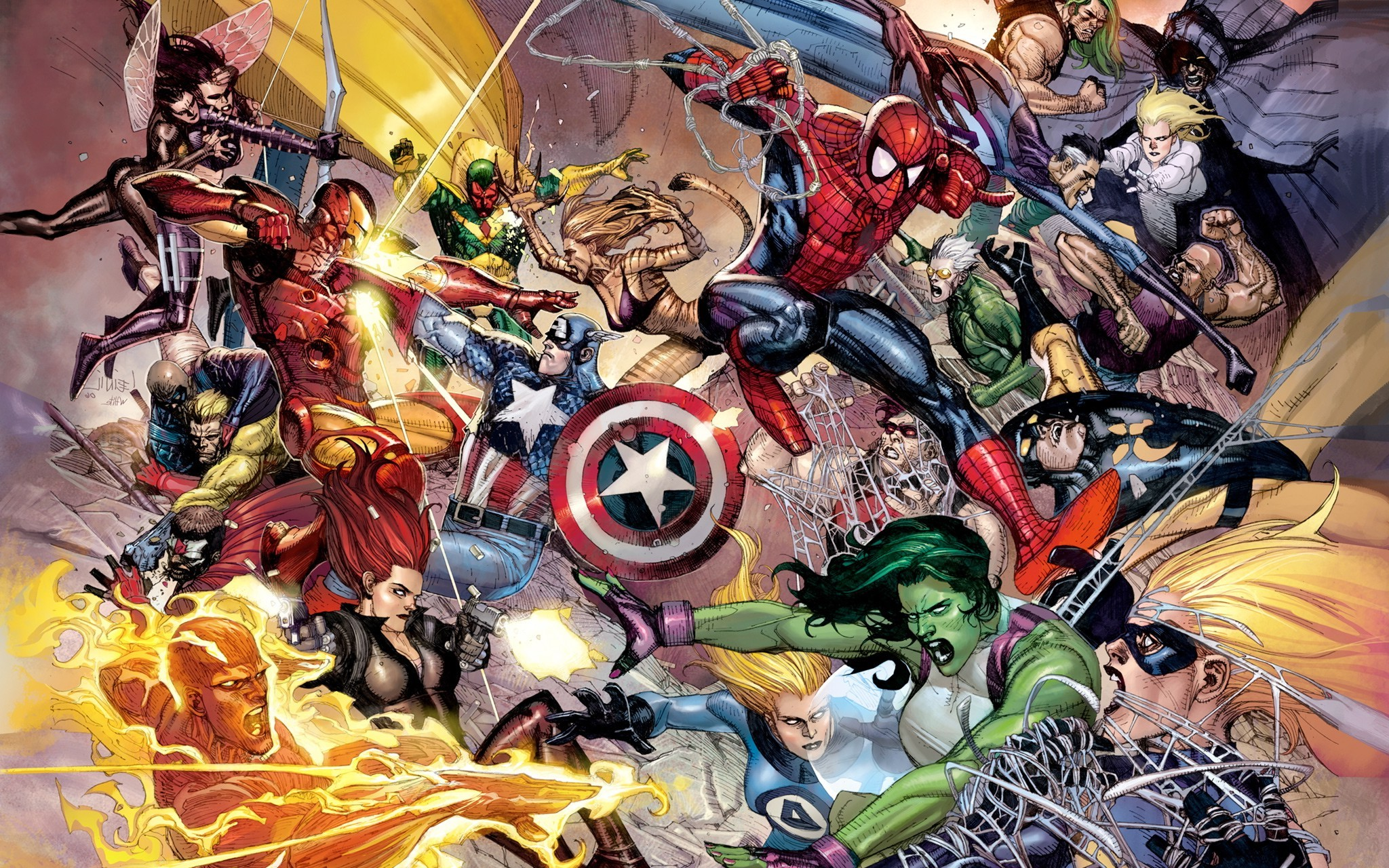 Res: 2048x1280, Marvel Comics Wallpapers 7 - 2048 X 1280