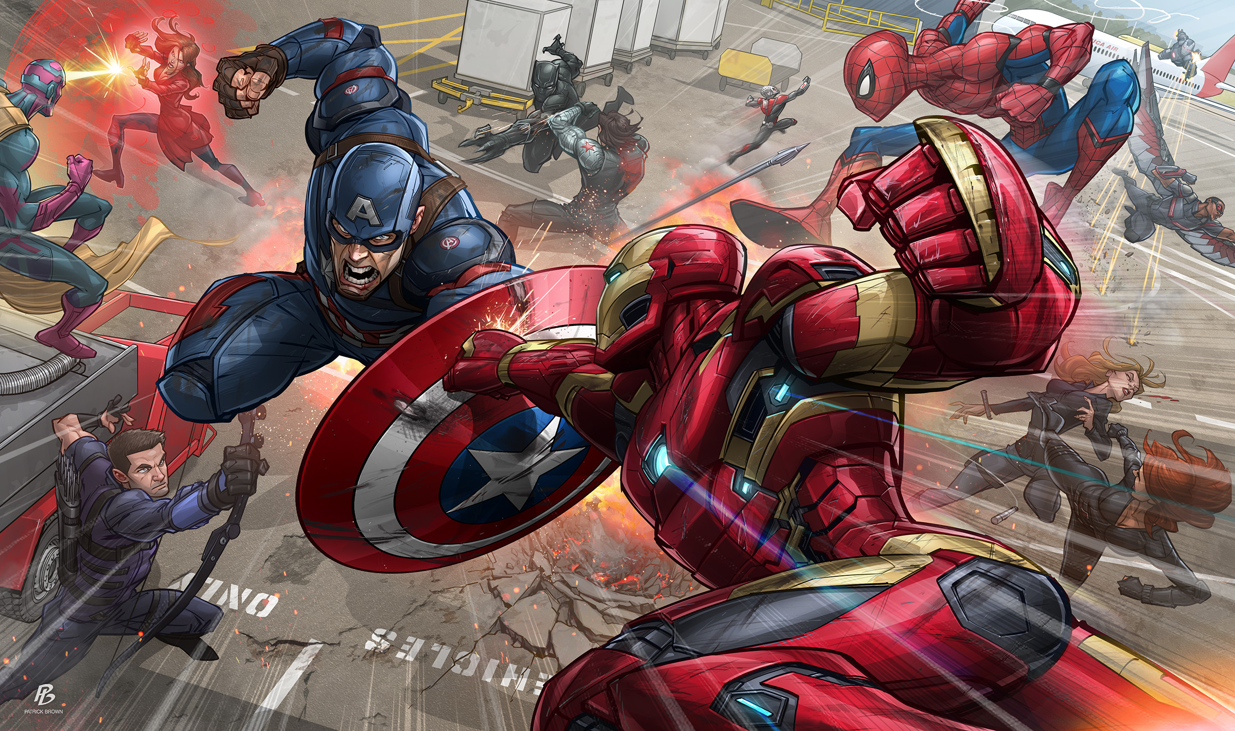 Res: 2400x1420, Marvel Comics Wallpapers 10 - 2400 X 1420