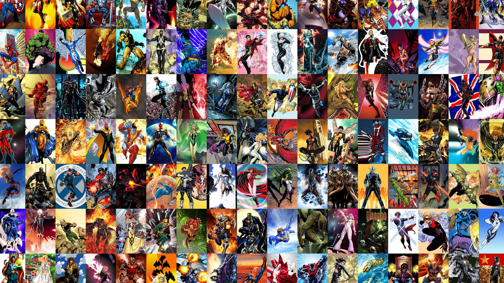 Res: 1920x1080, ... Marvel characters wallpaper  ...