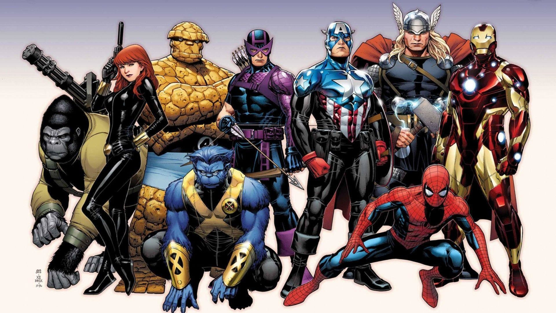 Res: 1920x1080, Fonds d'écran Marvel Comics : tous les wallpapers Marvel Comics