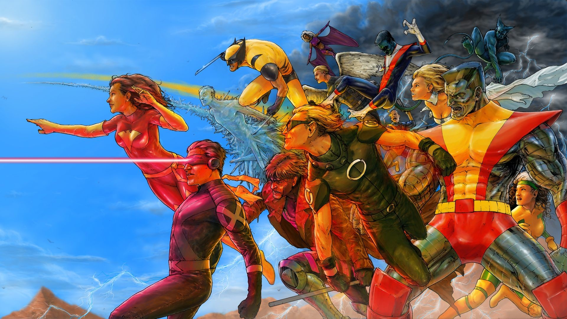 Res: 1920x1080, Discover ideas about Marvel Dc. X Men Comic Wallpaper ...