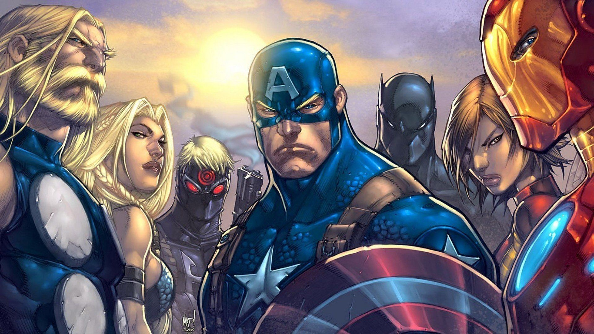 Res: 1920x1080, captain-america-avengers-wallpaper-ultimates-marvel-comics-wallpapers.