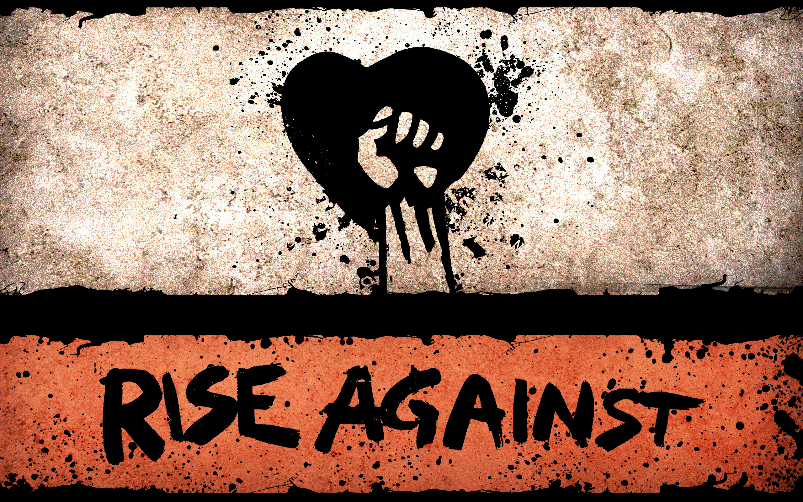 Res: 2560x1600, Musik - Rise Against Wallpaper