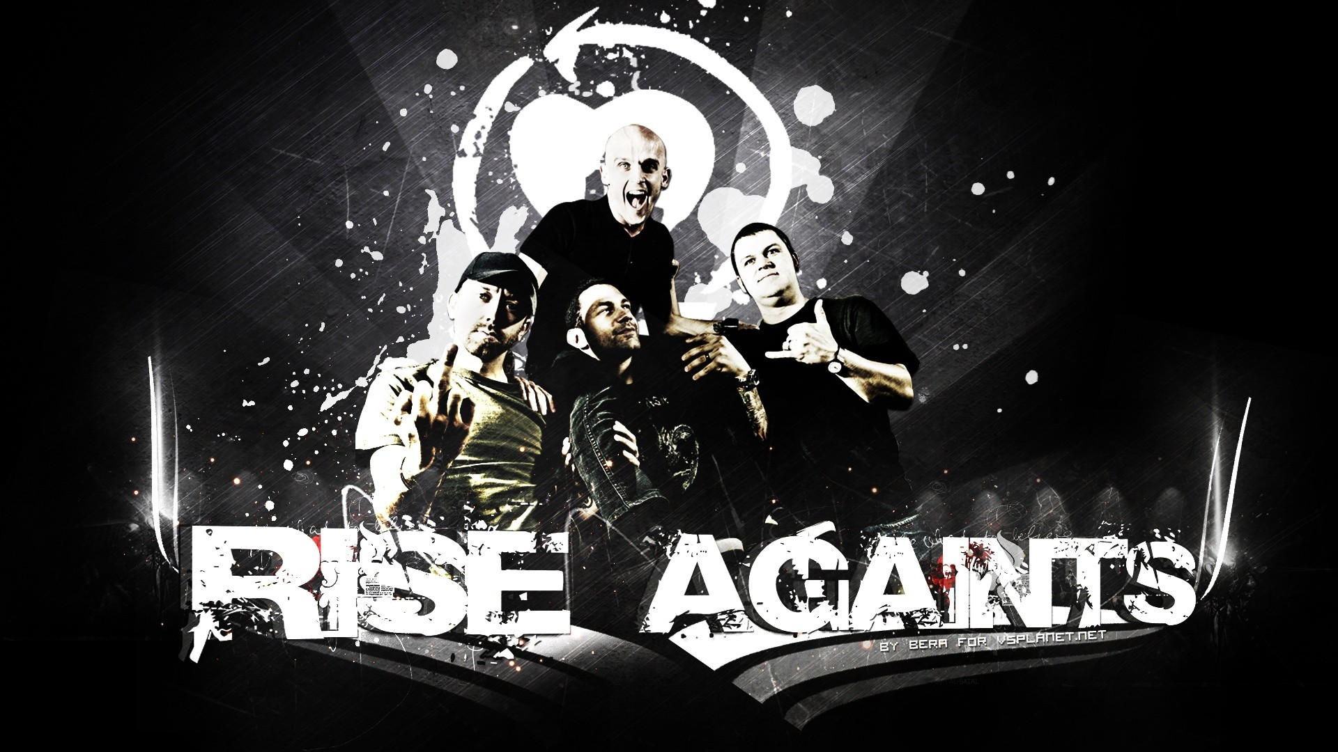 Res: 1920x1080, Rise Against