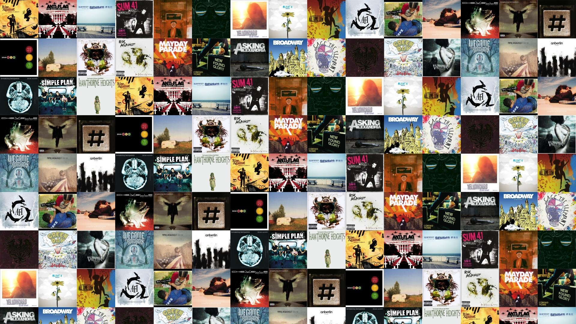 Res: 1920x1080, Download this free wallpaper with images of Rise Against – Appeal To  Reason, Anti-flag – For Blood And Empire, Senses Fail – Follow Your Bliss,  ...