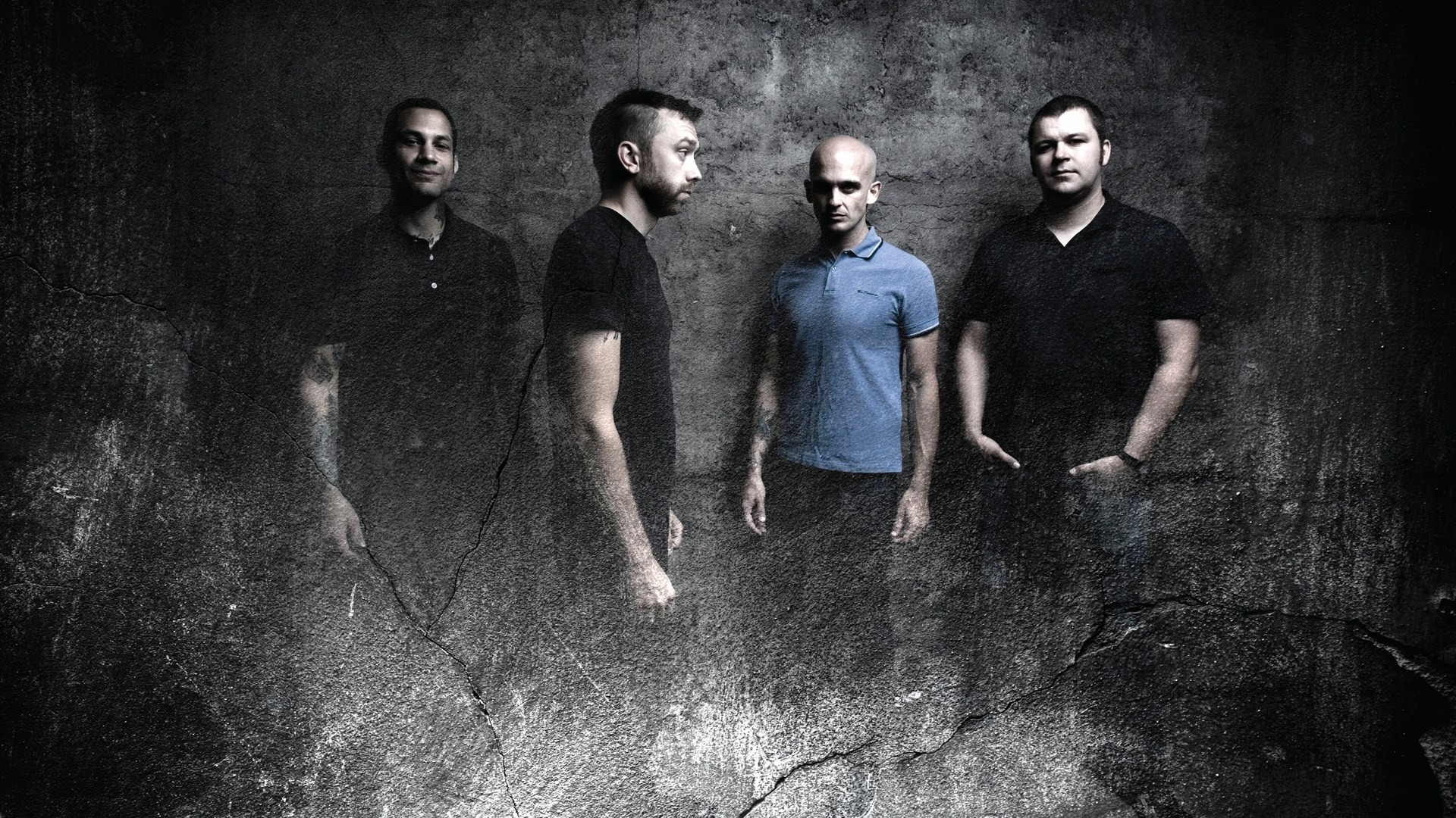 Res: 1920x1080, Zach Blair Tim McIlrath Rise Against Joe Principe Brandon Barnes 1080p HD  Wallpaper Background