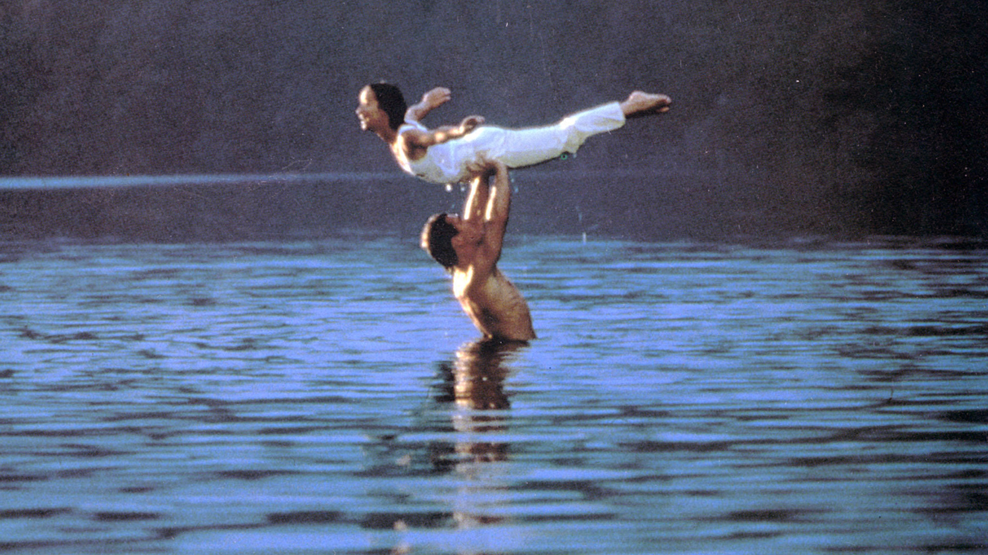 Res: 1920x1080, Patrick Swayze battled knee pain during 'Dirty Dancing' lake scene -  TODAY.com