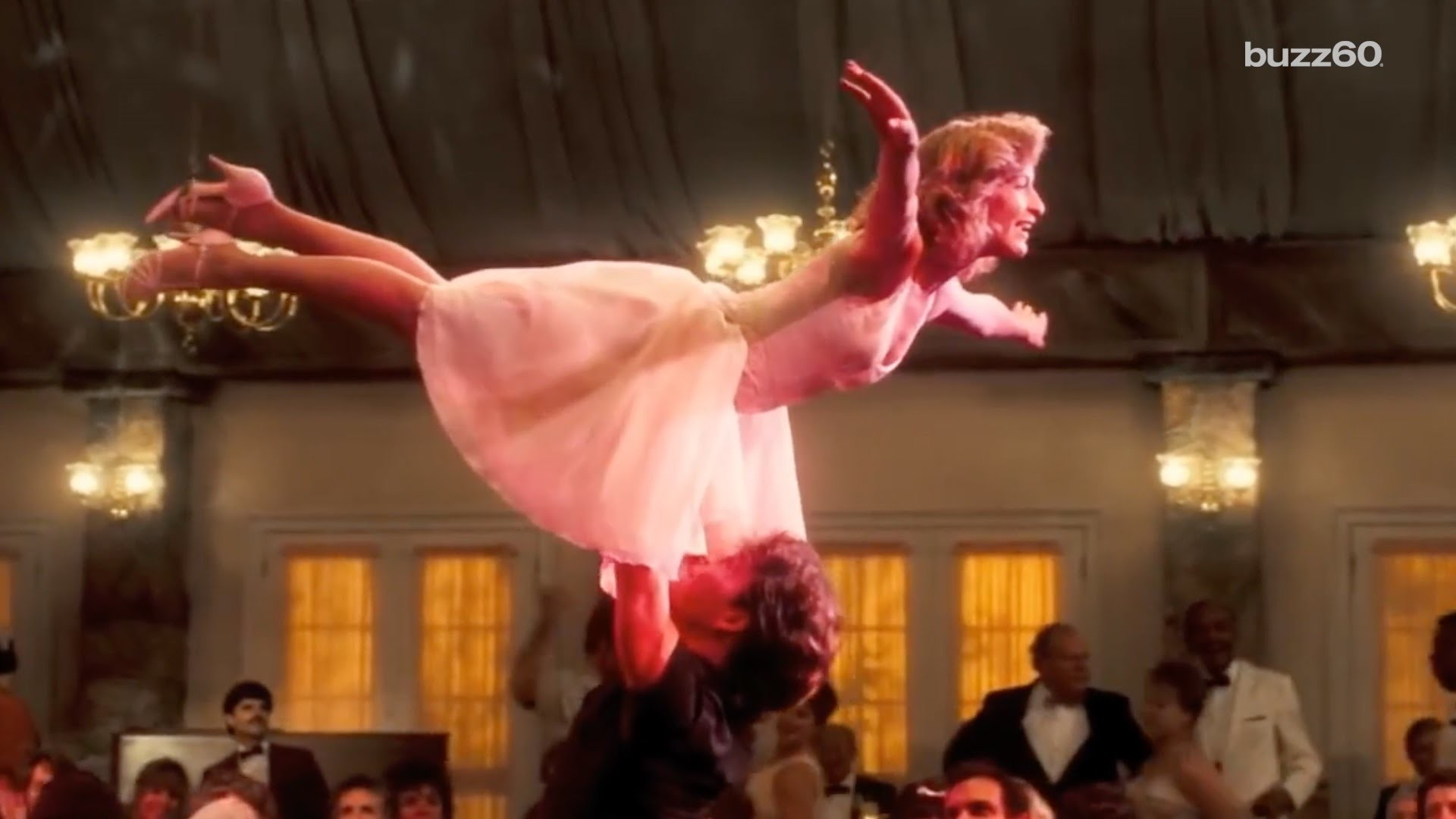 Res: 1920x1080, 'Dirty Dancing' famous lift was unrehearsed - YouTube
