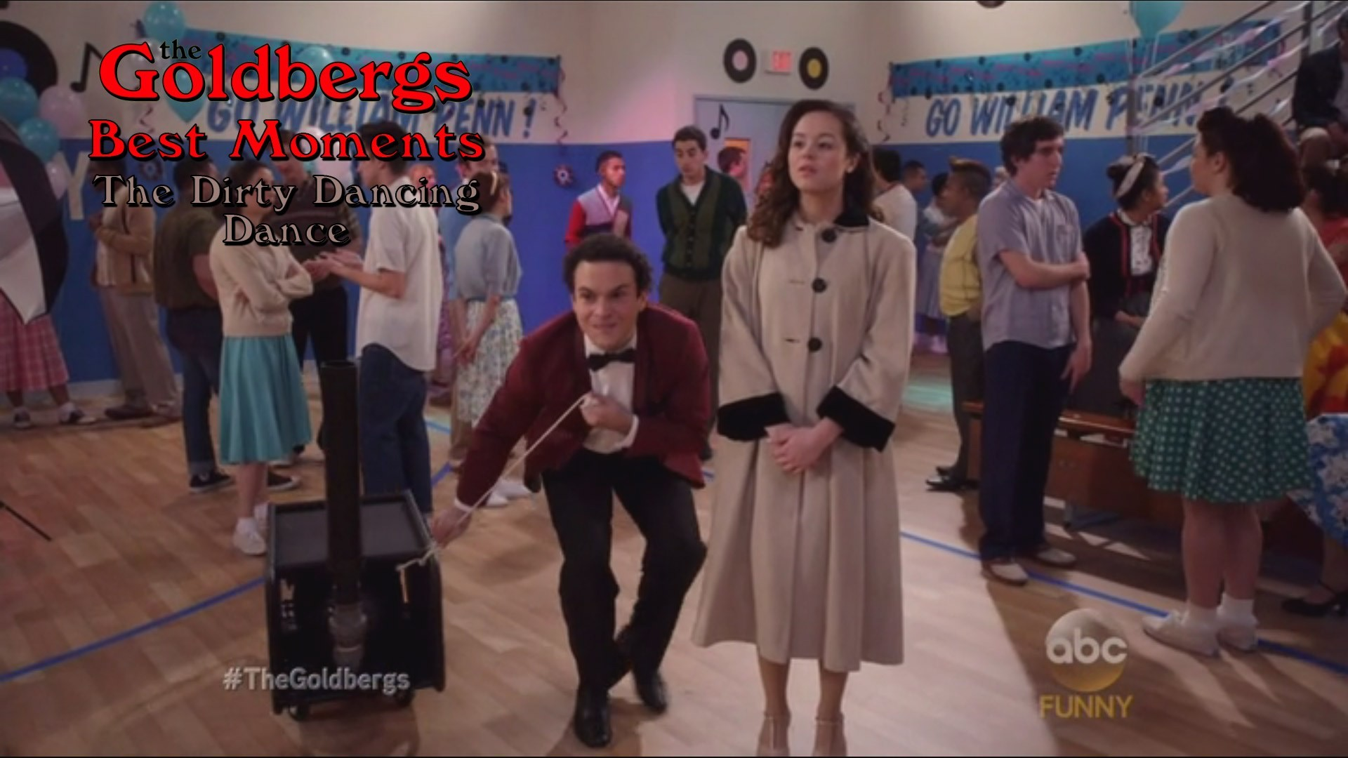 Res: 1920x1080, The Goldbergs Best Moments 'The Dirty Dancing Dance'