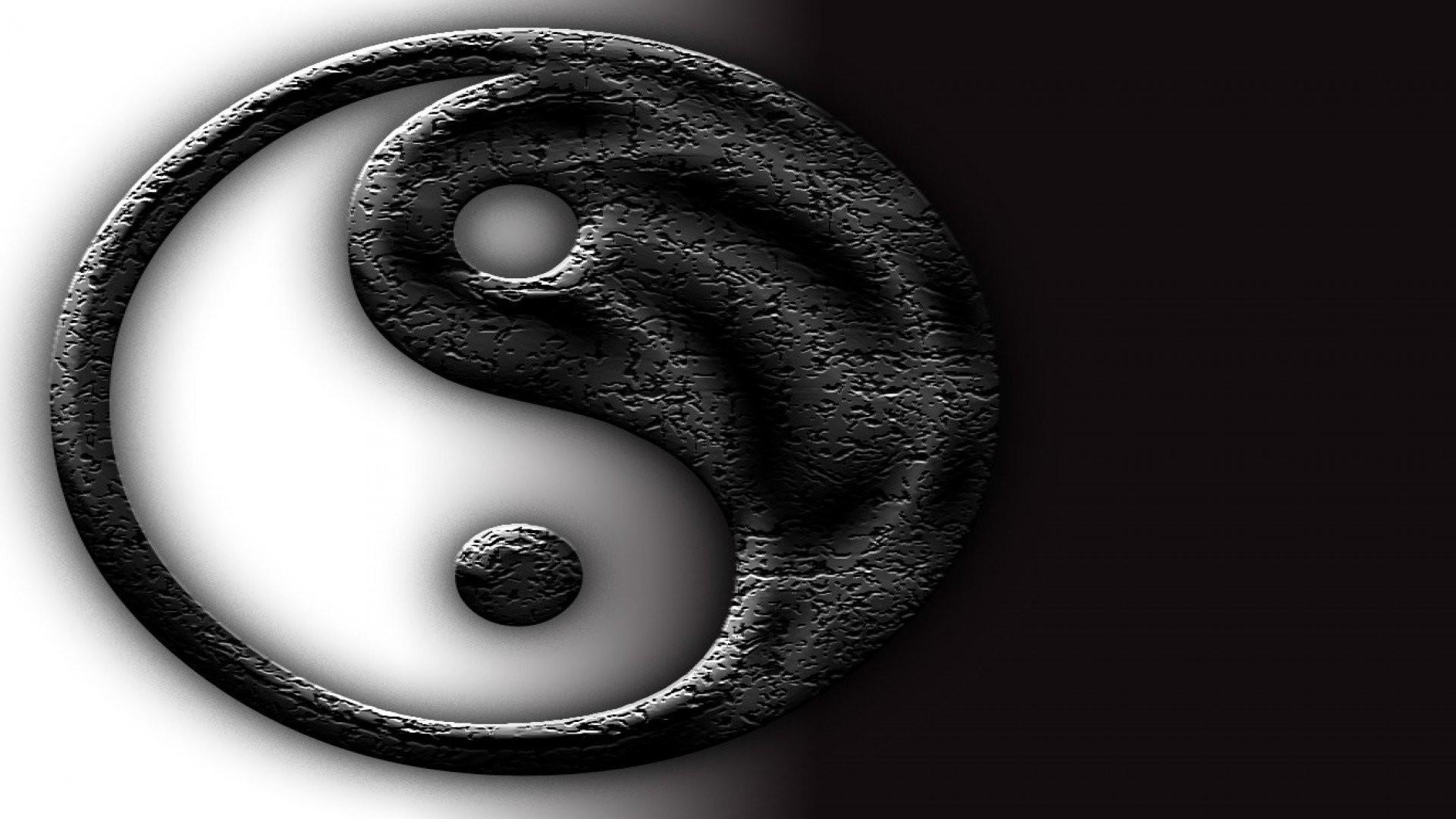 Res: 1920x1080, cracked yin yang