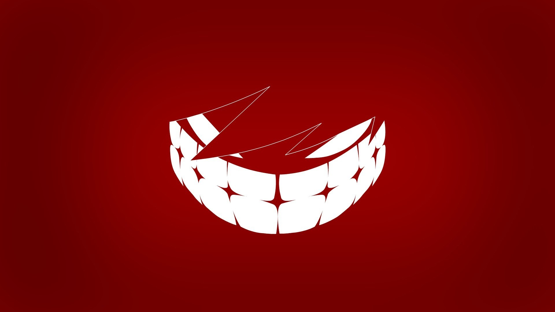 Res: 1920x1080, Art Smile Red