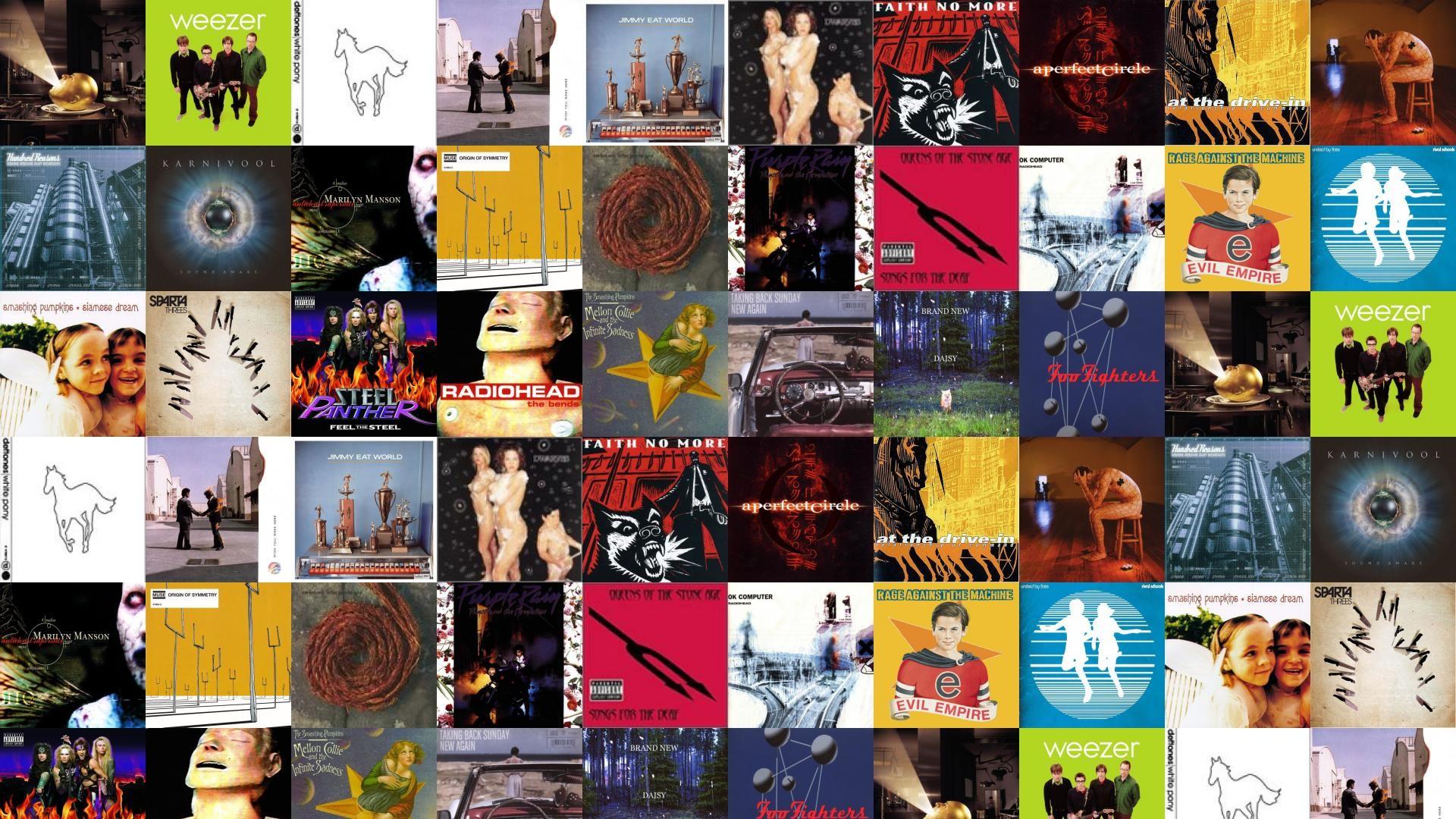 Res: 1920x1080, Mars Volta Deloused In Comatorium Weezer Green Deftones Wallpaper Â« Tiled  Desktop Wallpaper