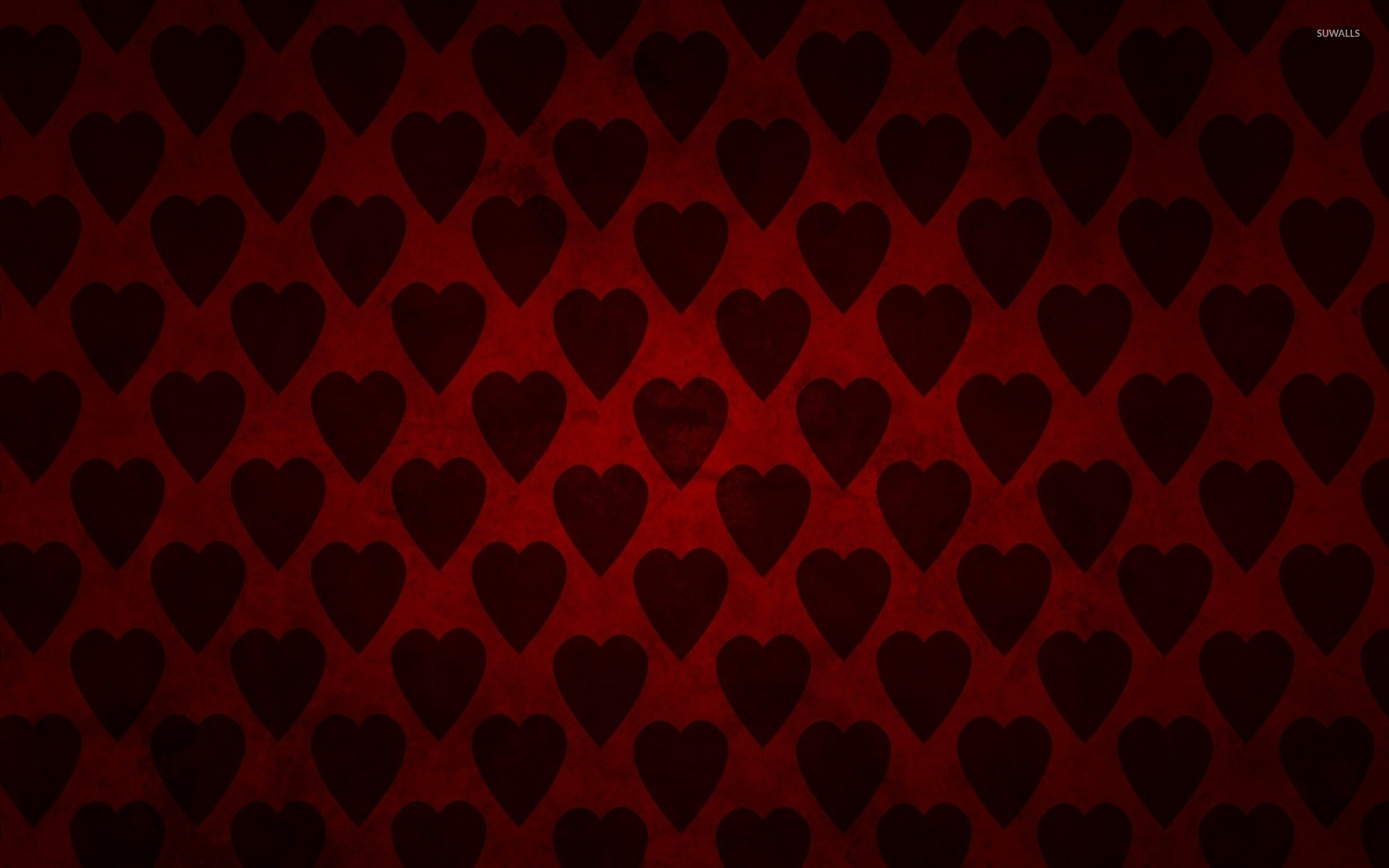 Res: 1920x1200, Red hearts wallpaper