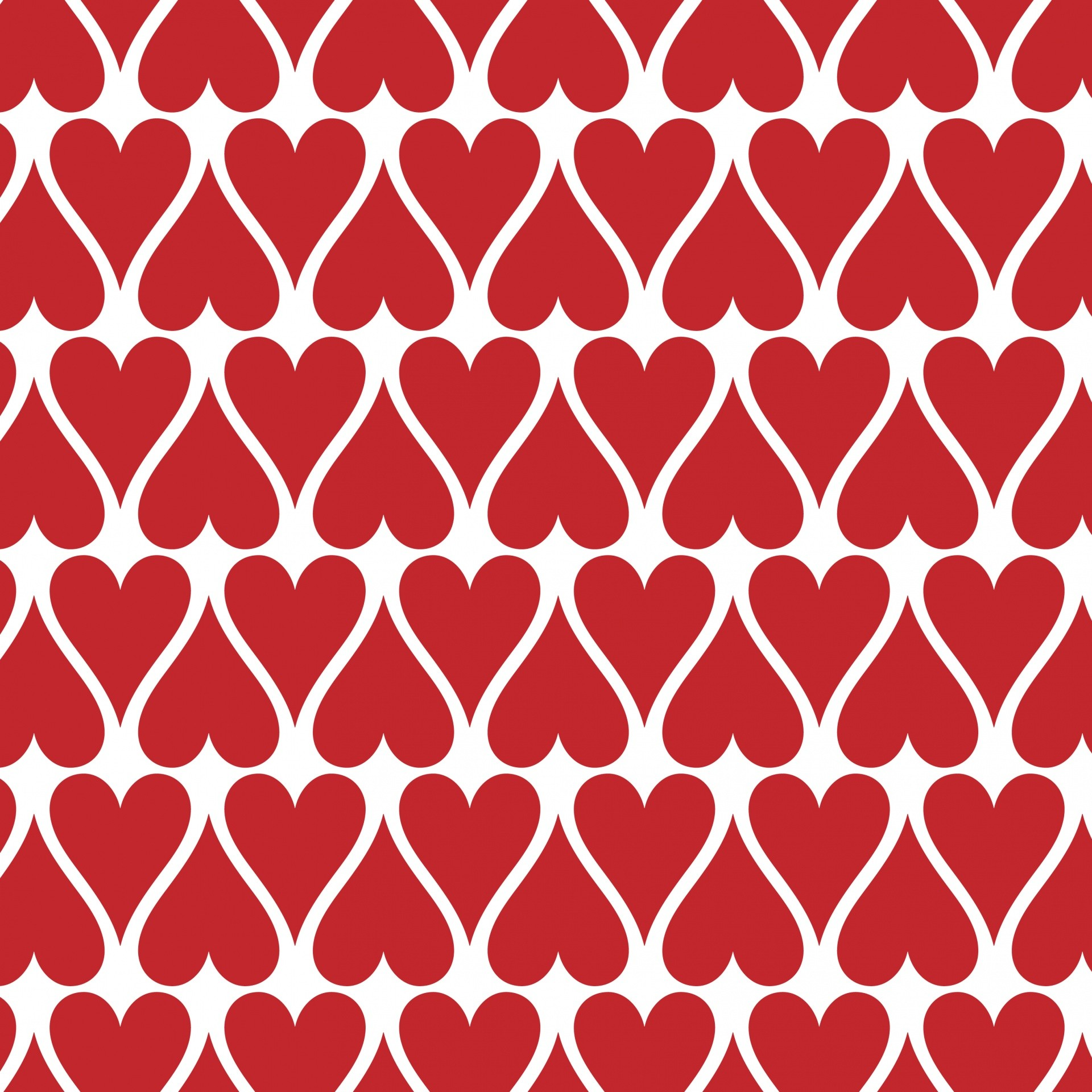 Res: 1920x1920, Red Hearts Wallpaper Background