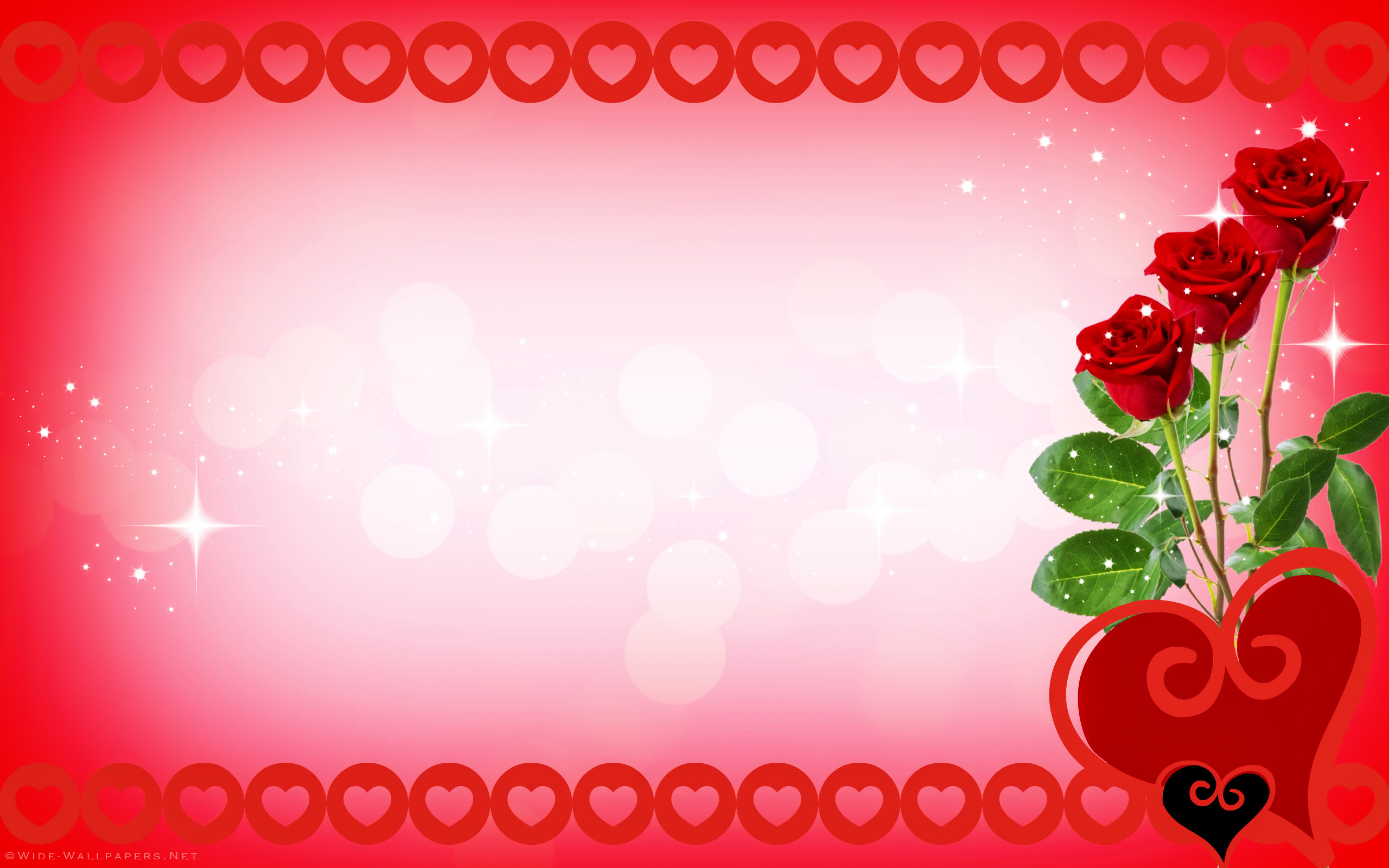 Res: 2560x1600, valentine hearts wallpaper valentines day card red roses and hearts wide  wallpaper 2560×1600