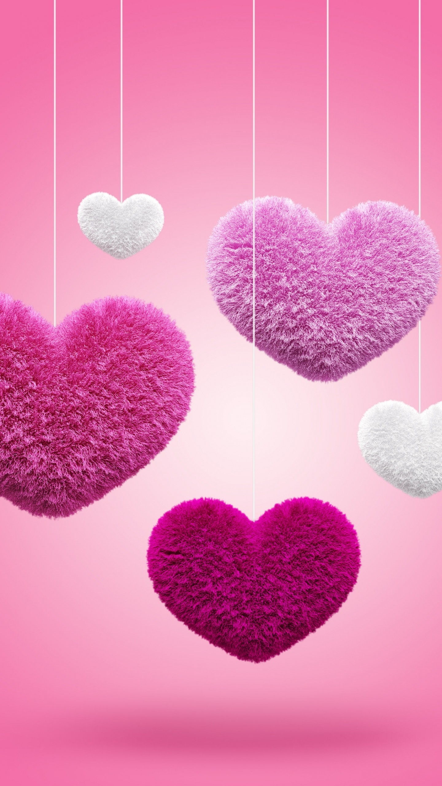 Res: 1440x2560, love fluffy hearts hd  mobile wallpapers