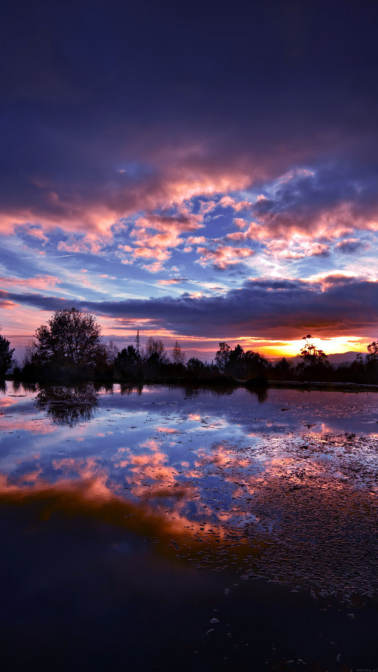 Res: 1242x2208, river-entertainment-red-sky-nature-city-9-wallpaper
