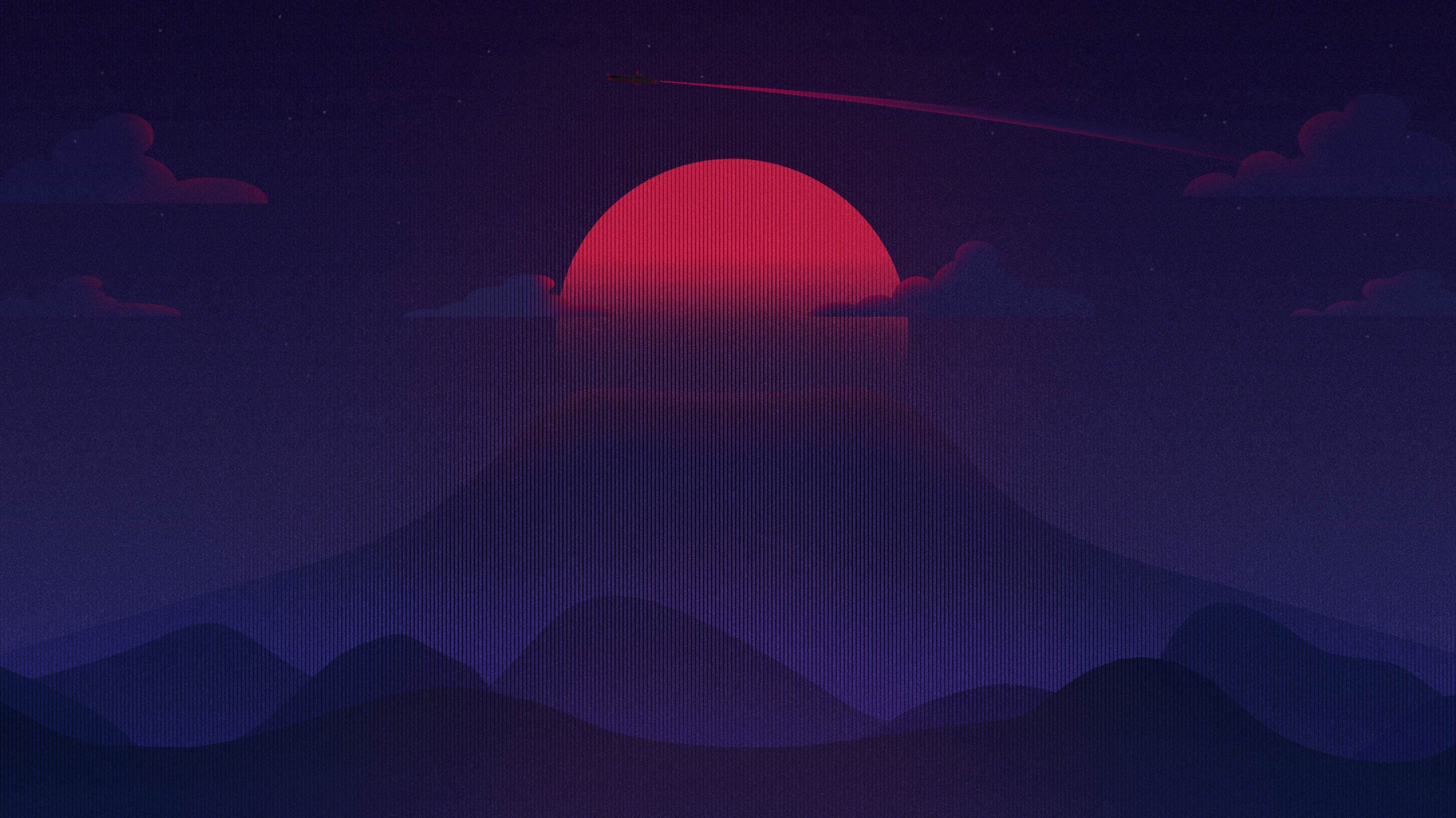 Res: 2560x1440, Creative Graphics / Sunset Wallpaper