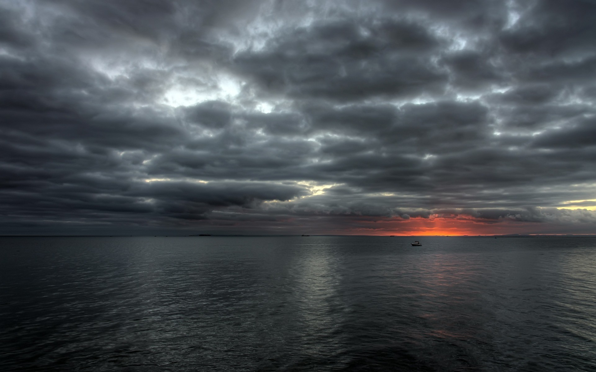Res: 1920x1200, HDR Sunset Wallpaper Landscape Nature Wallpapers