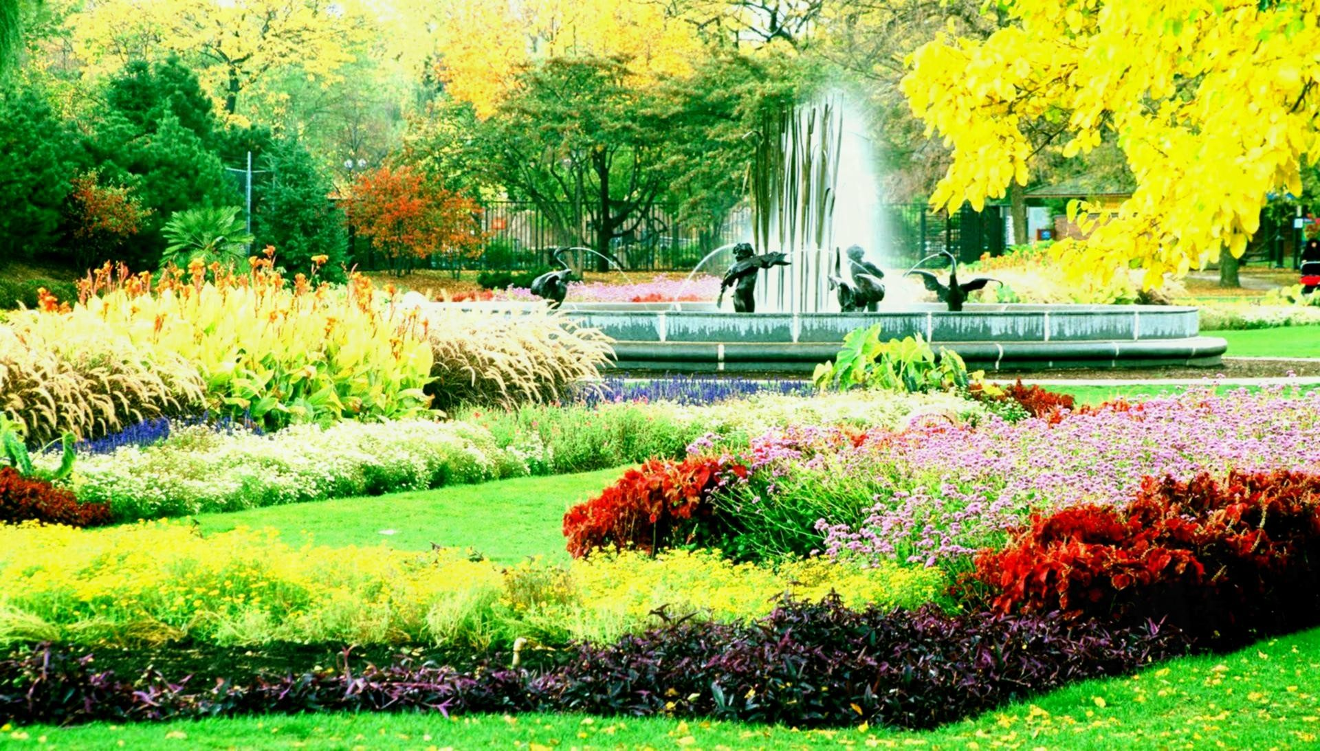 Res: 1920x1093, Beautiful Garden Wallpapers Free Download Hd