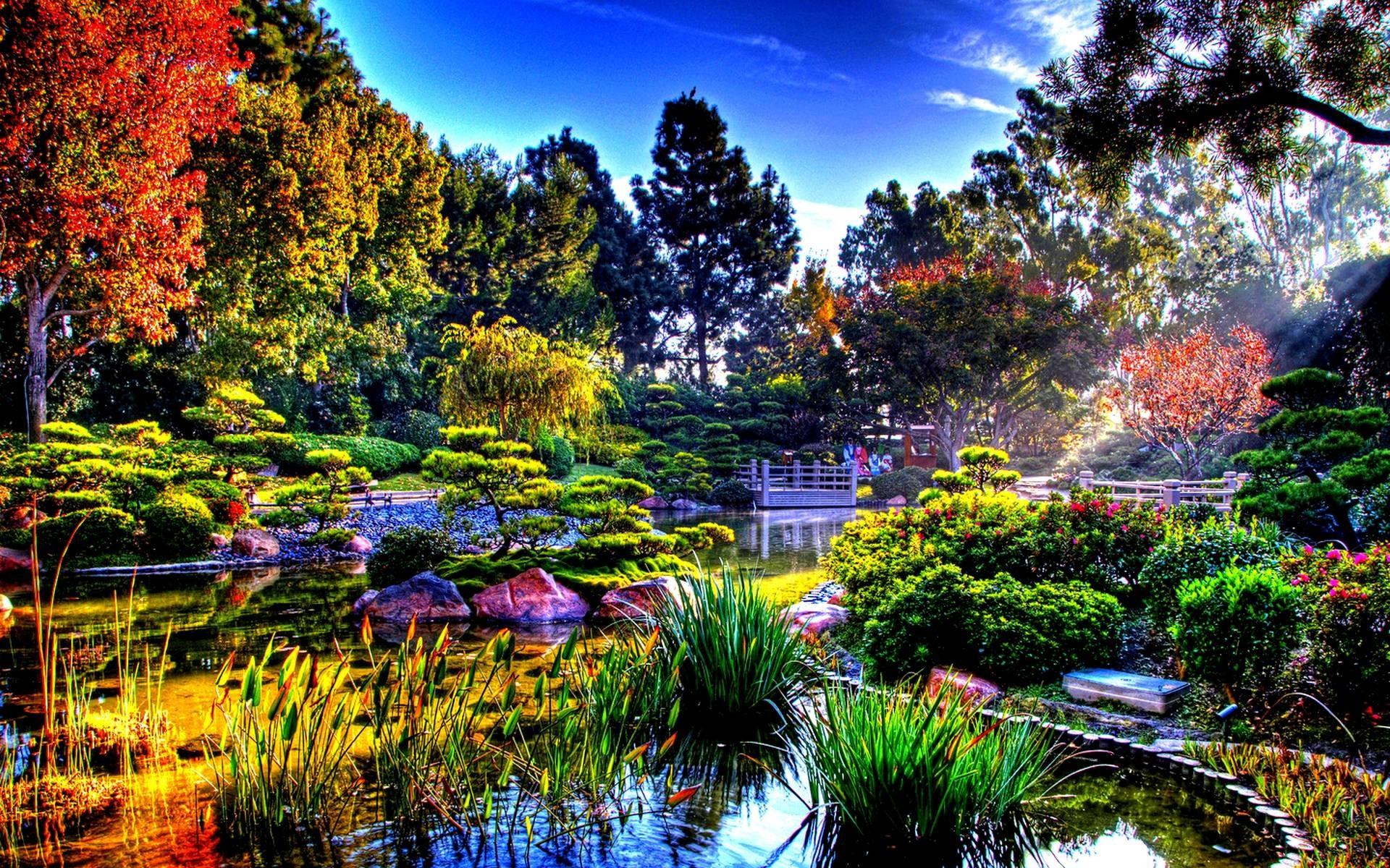 Res: 1920x1200, Beautiful Flower Garden Images HD Wallpapers | Beautiful images HD Pictures  & Desktop Wallpapers