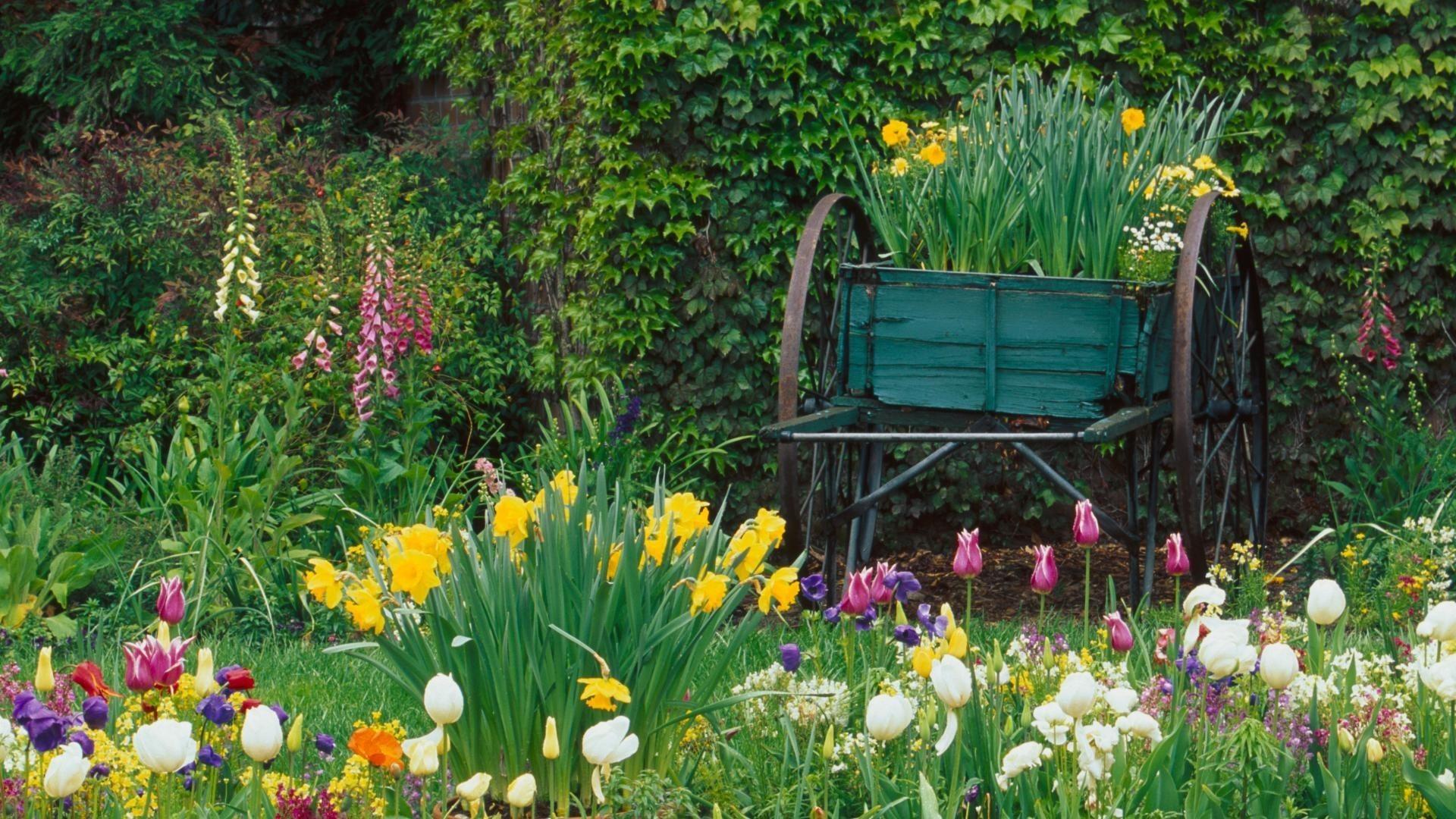 Res: 1920x1080, Gardens Beautiful HD Wallpaper