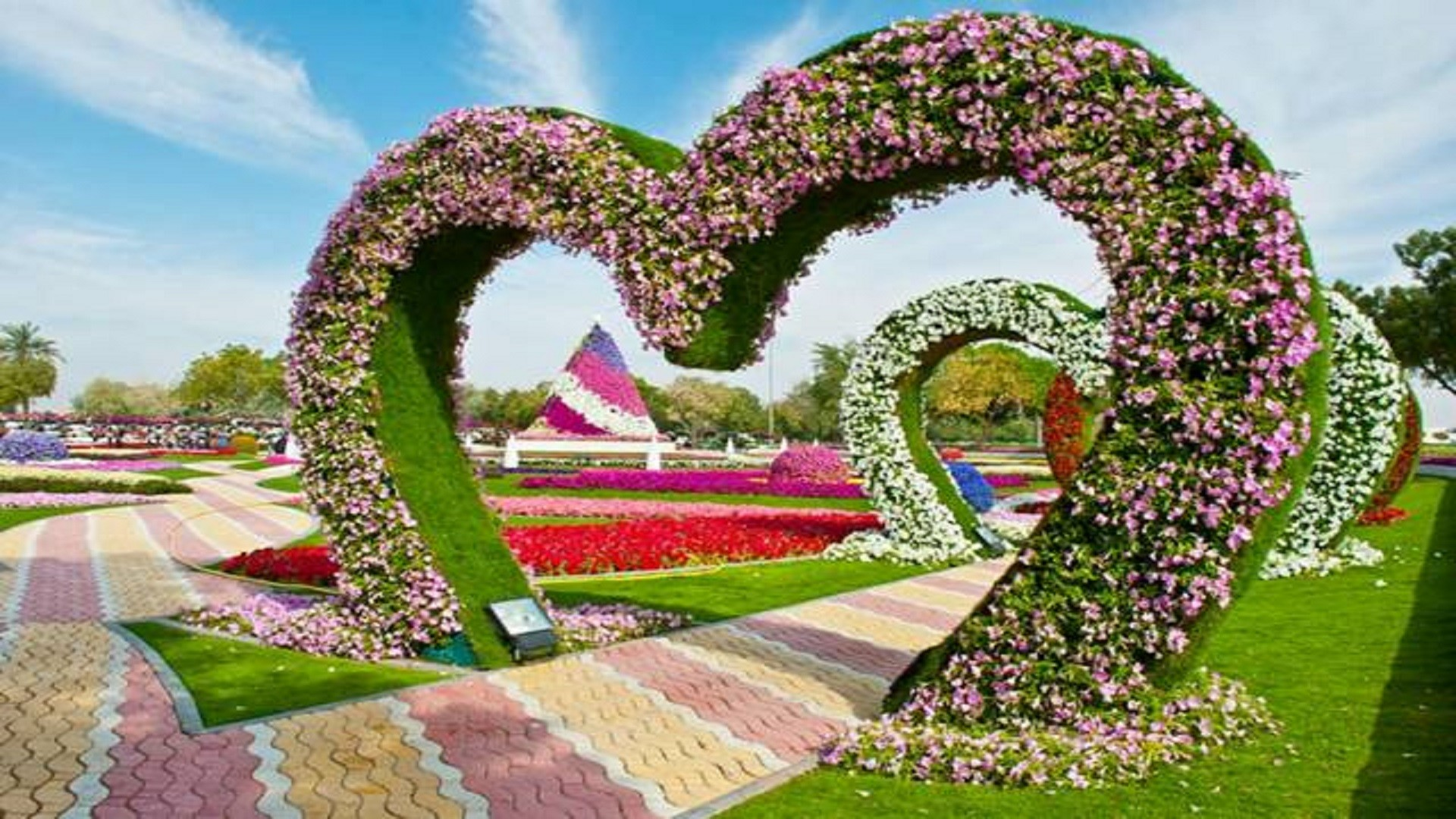 Res: 1920x1080, Garden Hd Pic Flowers Wallpapers Free For Desktop Wall Home Gardens Designe
