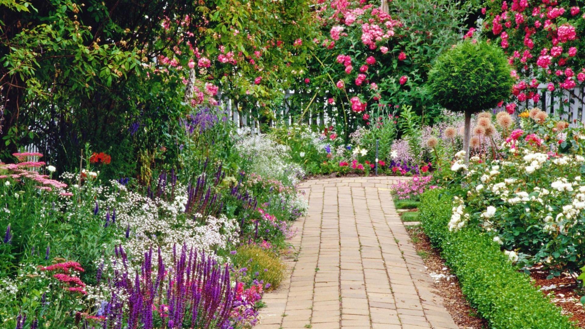 Res: 1920x1080, Garden Wallpapers 8 - 1920 X 1080