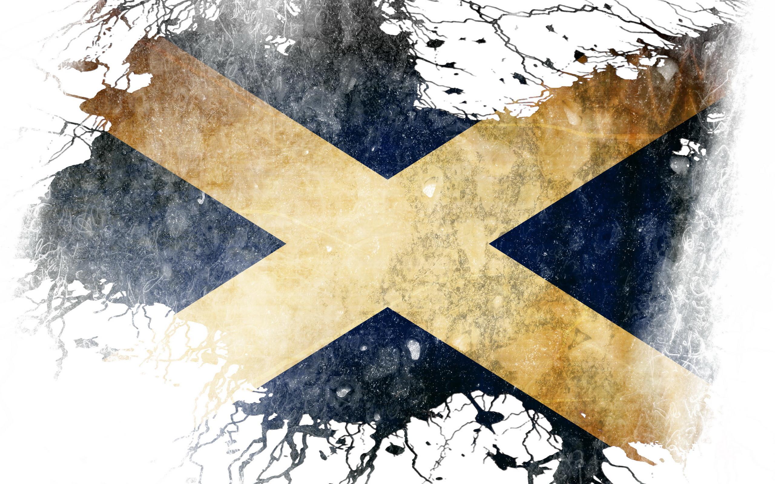 Res: 2560x1600, Misc - Flag Of Scotland Wallpaper