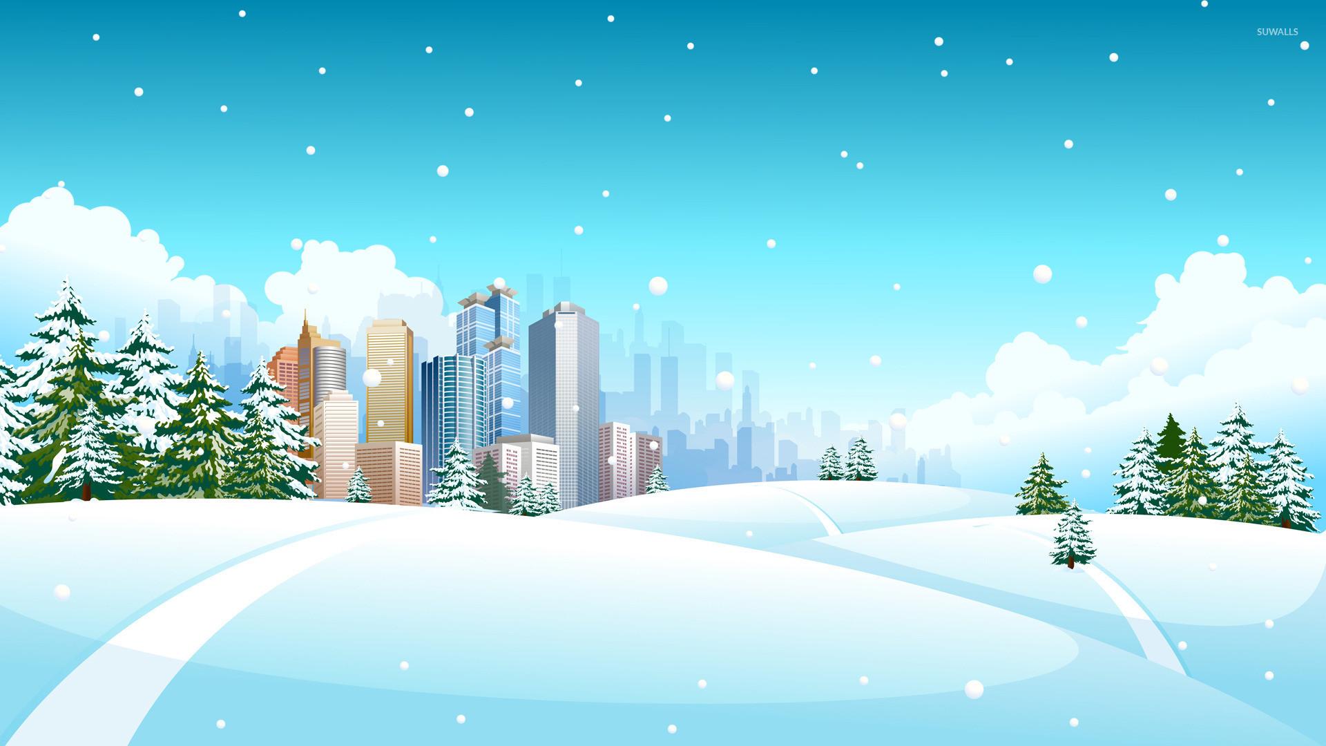 Res: 1920x1080, Winter landscape [8] wallpaper  jpg