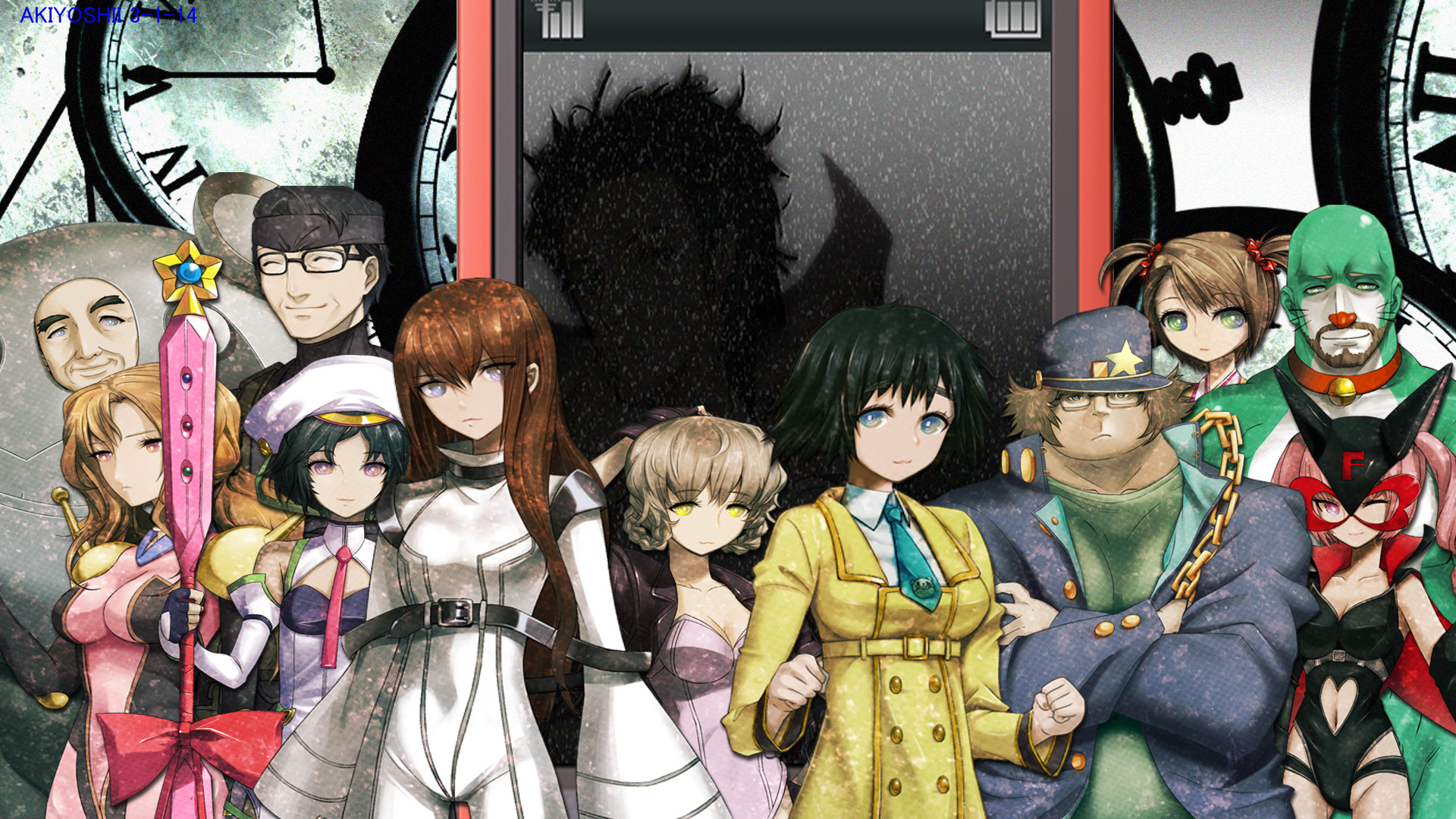 Res: 1920x1080, SteinsGate cosplay sprite wallpaper by Gws316 SteinsGate cosplay sprite  wallpaper by Gws316