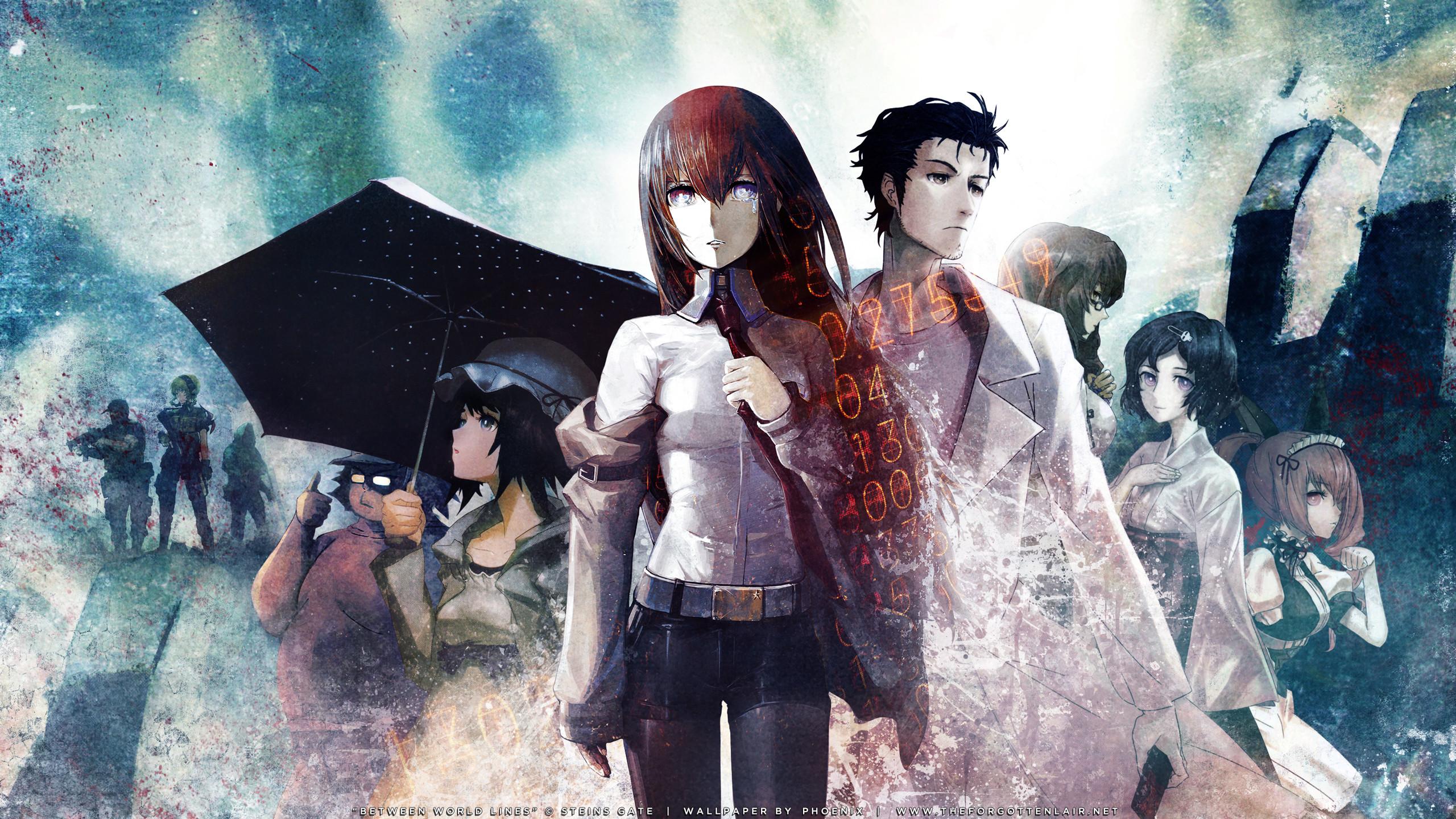 Res: 2560x1440, S;G AnimeSteins Gate Fan Art | I love it so much ...